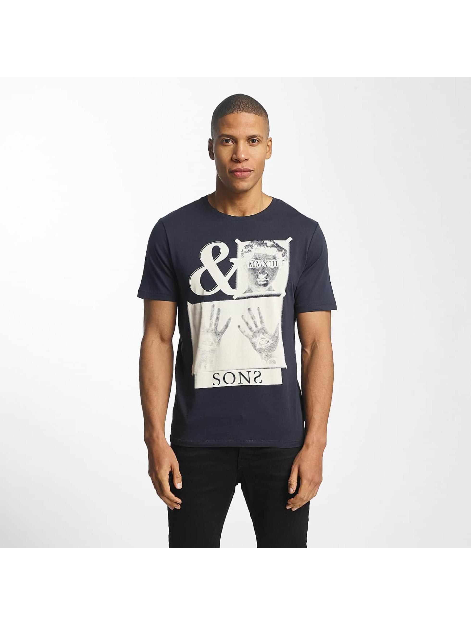 Only & Sons T-Shirty onsMalone niebieski