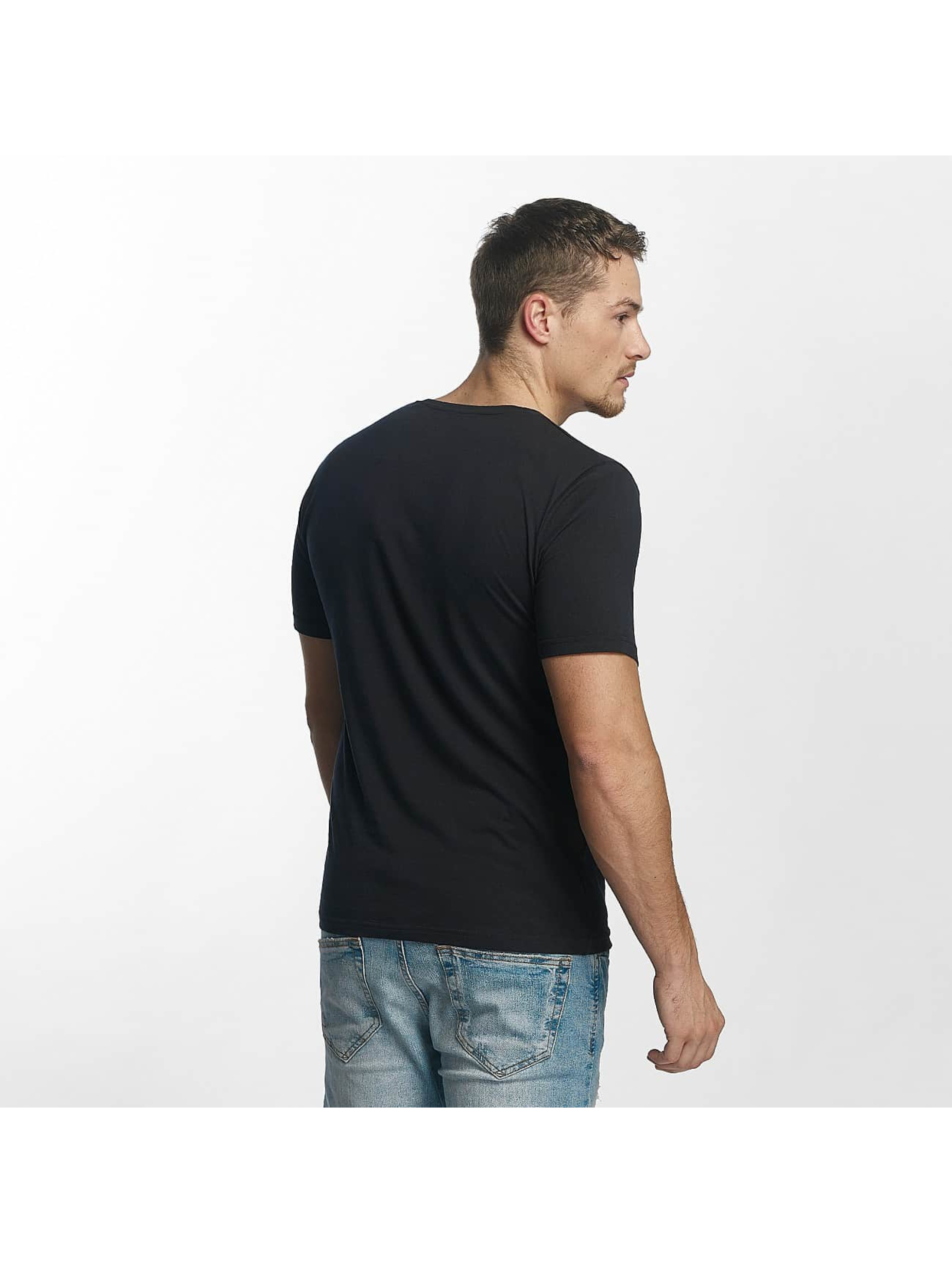 Only & Sons T-Shirty onsMerek O-Neck niebieski