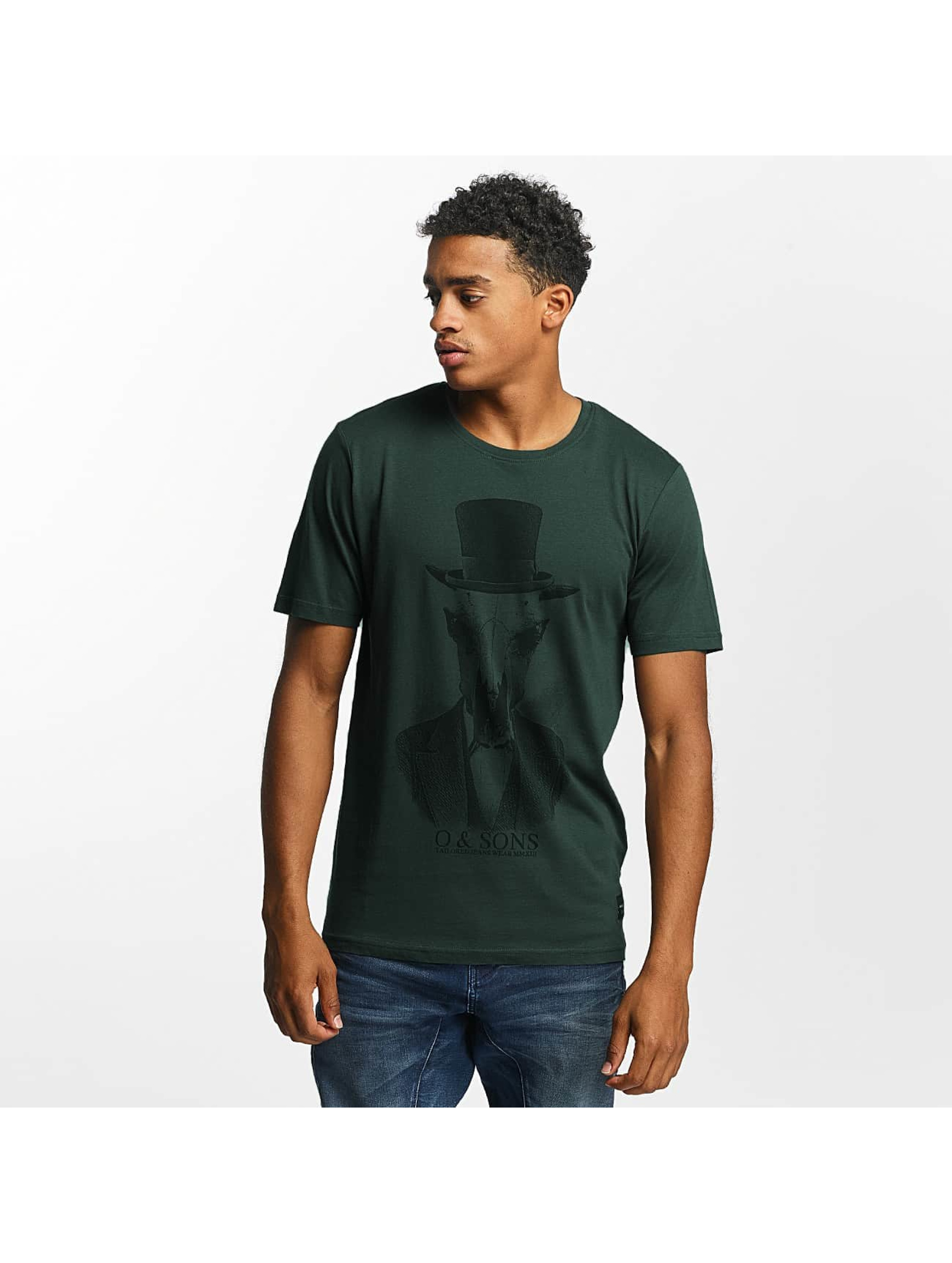 Only & Sons T-Shirty onsAbraham zielony