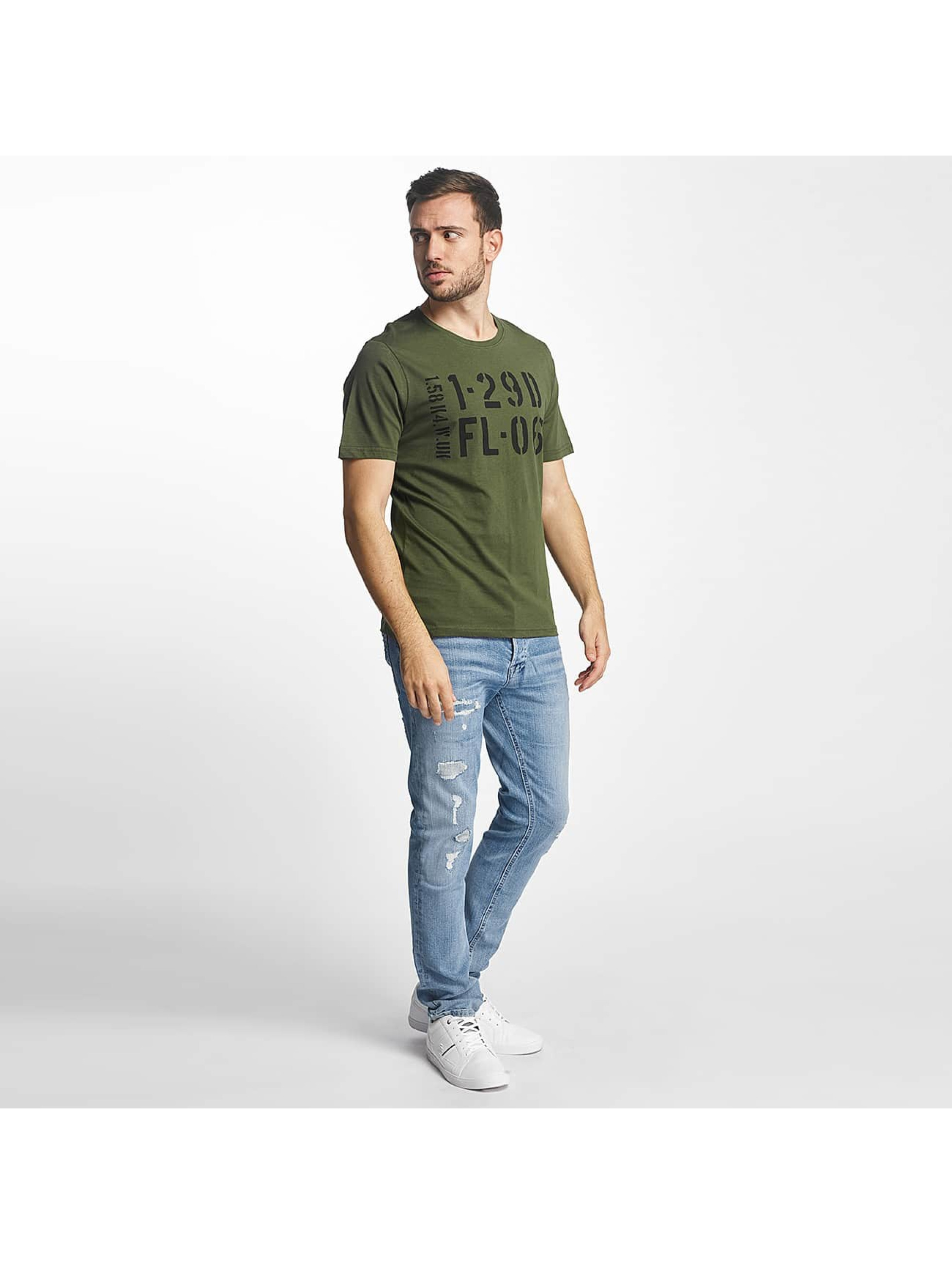 Only & Sons T-Shirty onsChase zielony