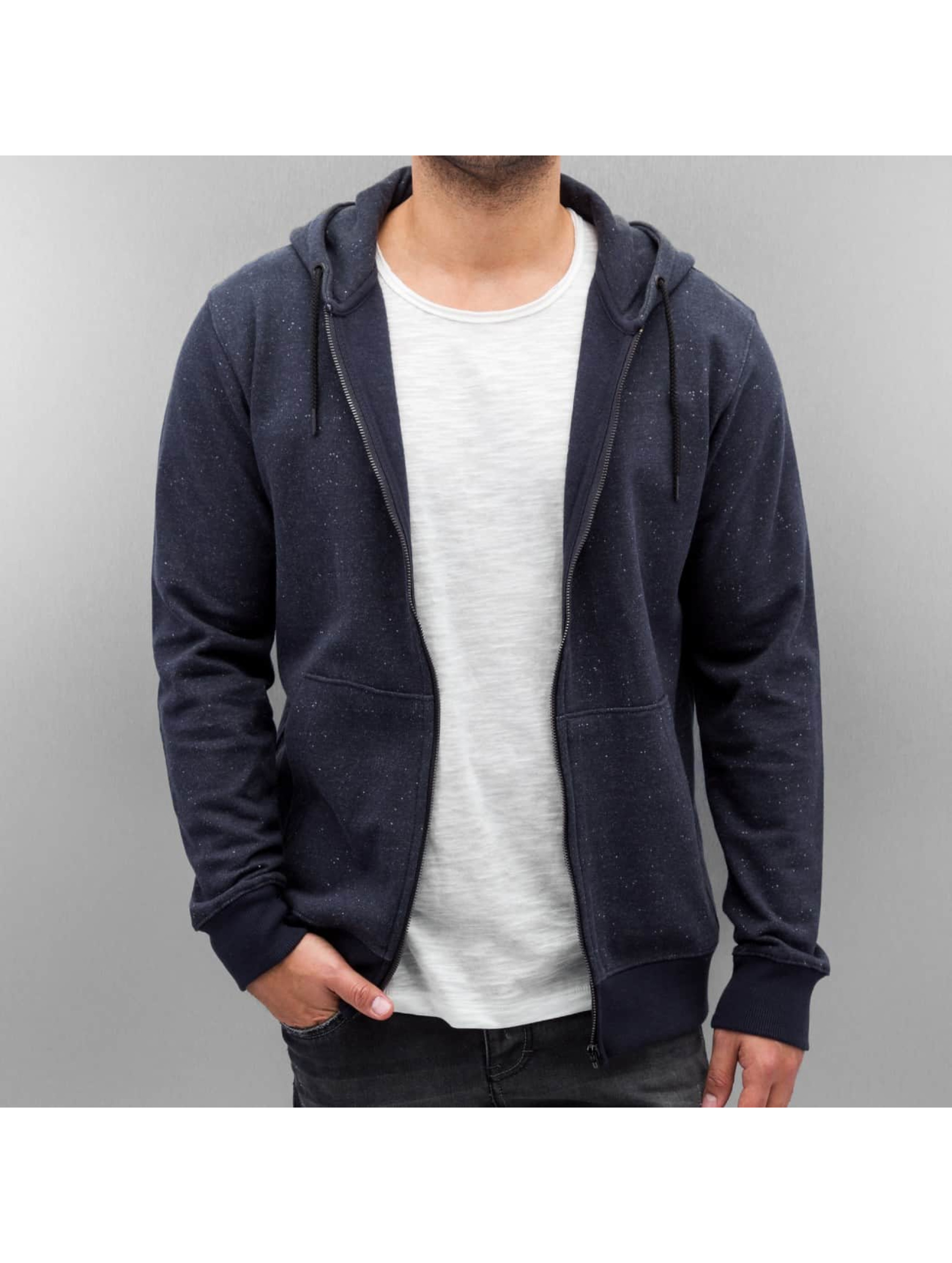 Only & Sons Zip Hoodie onsFiske blue