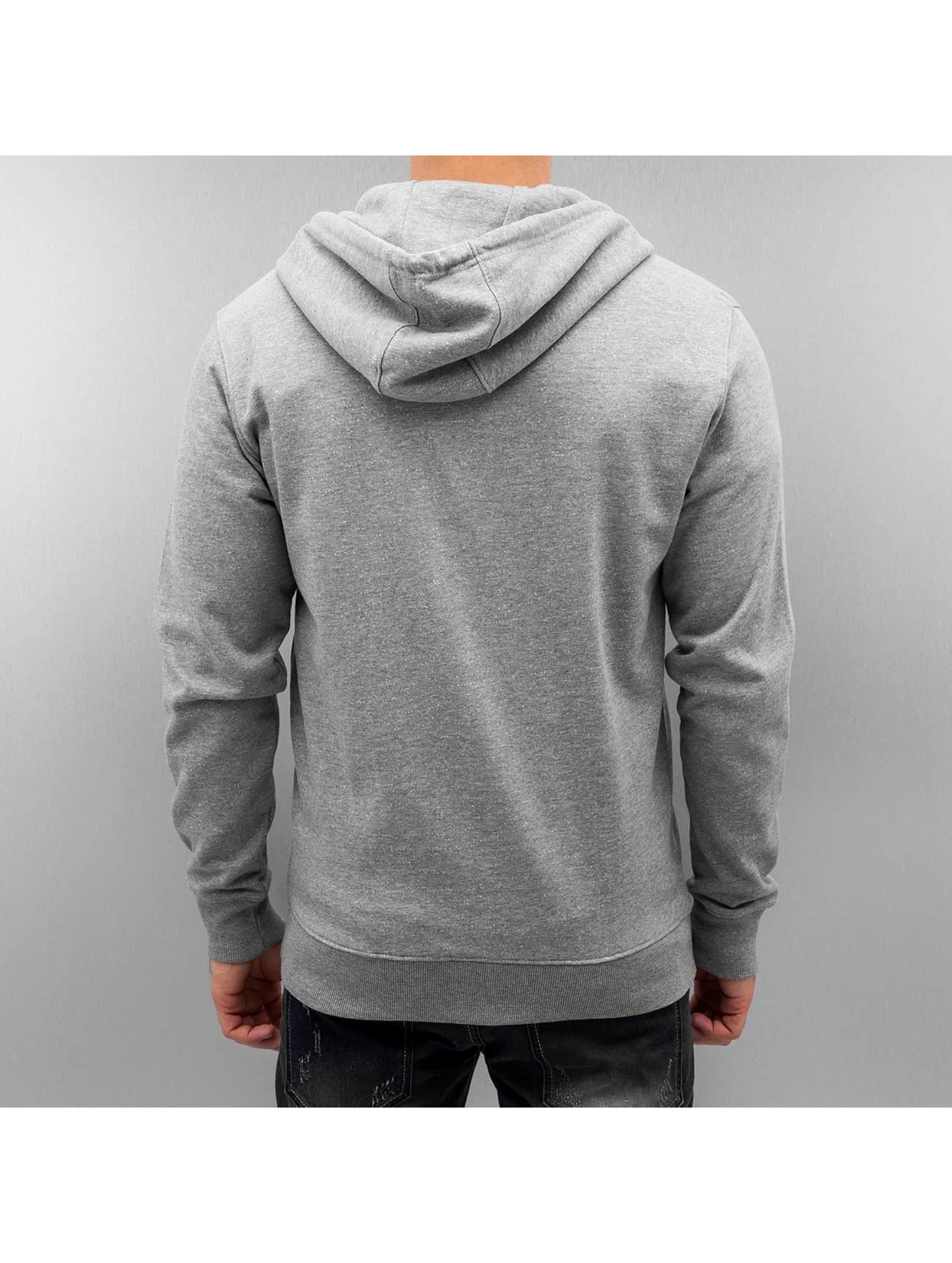 Only & Sons Zip Hoodie onsFiske grey