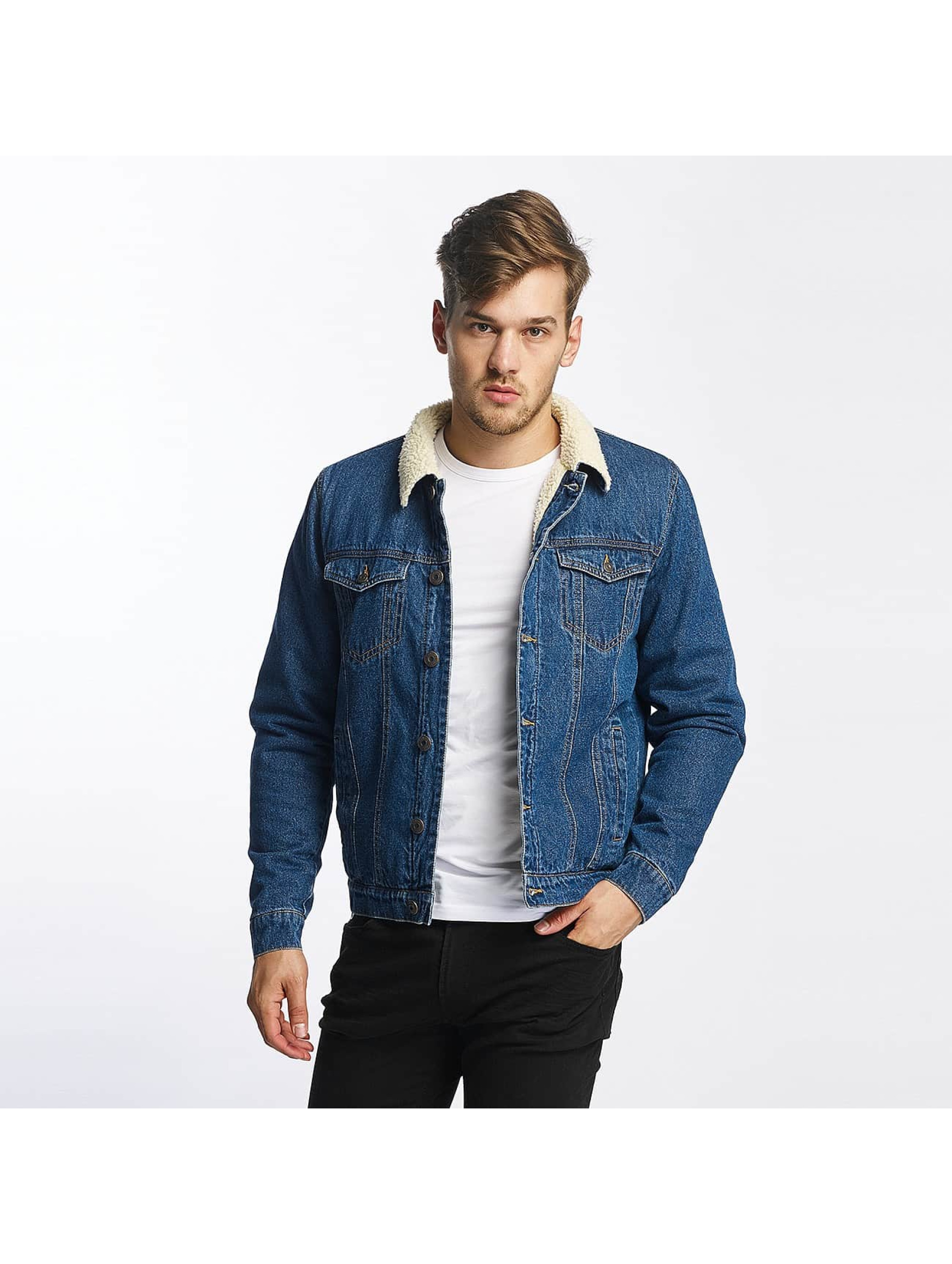 Only & Sons heren zomerjas onsLouis Fur Denim - blauw