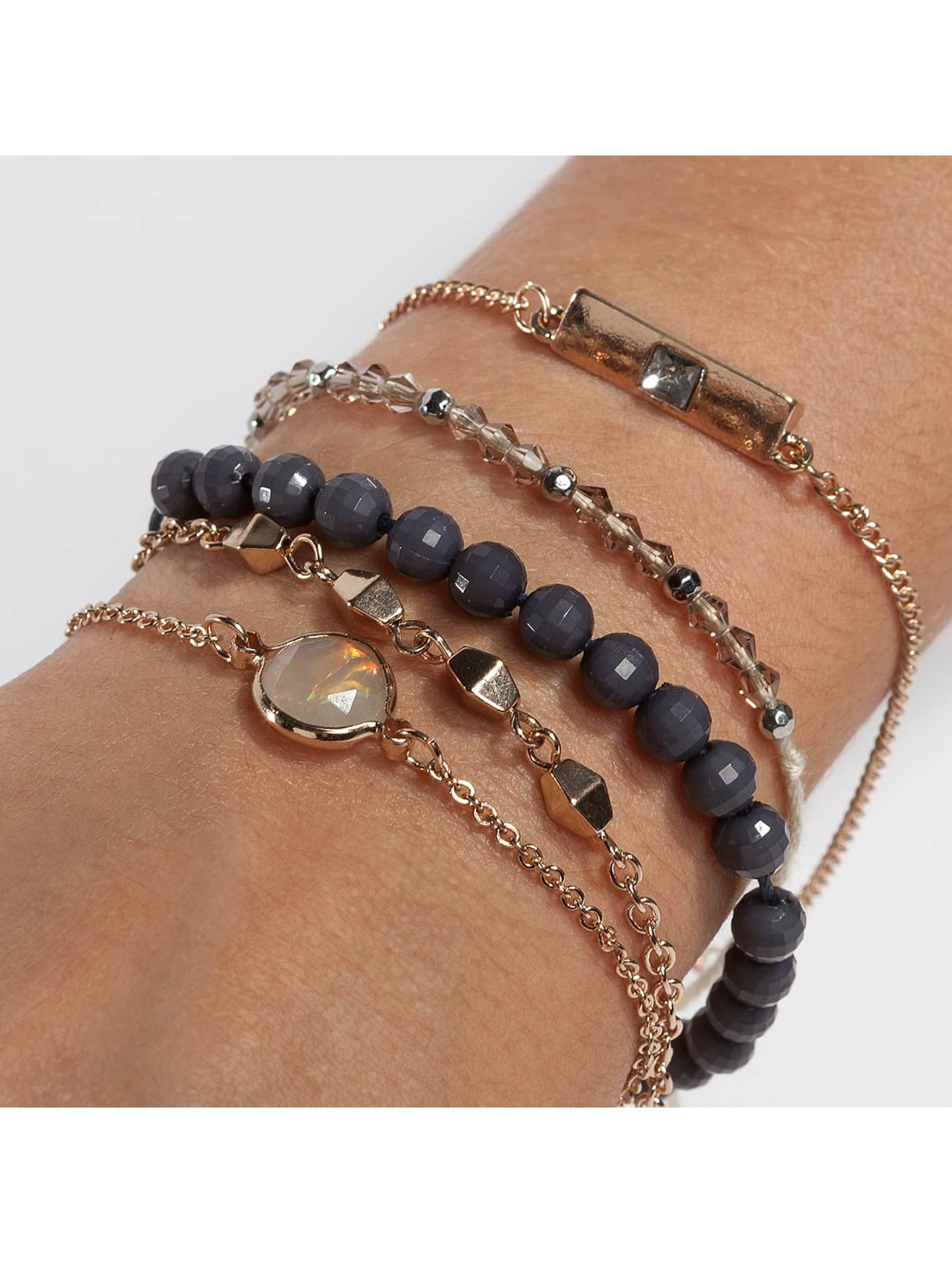 Only armband onlBetty 5 Pack grijs