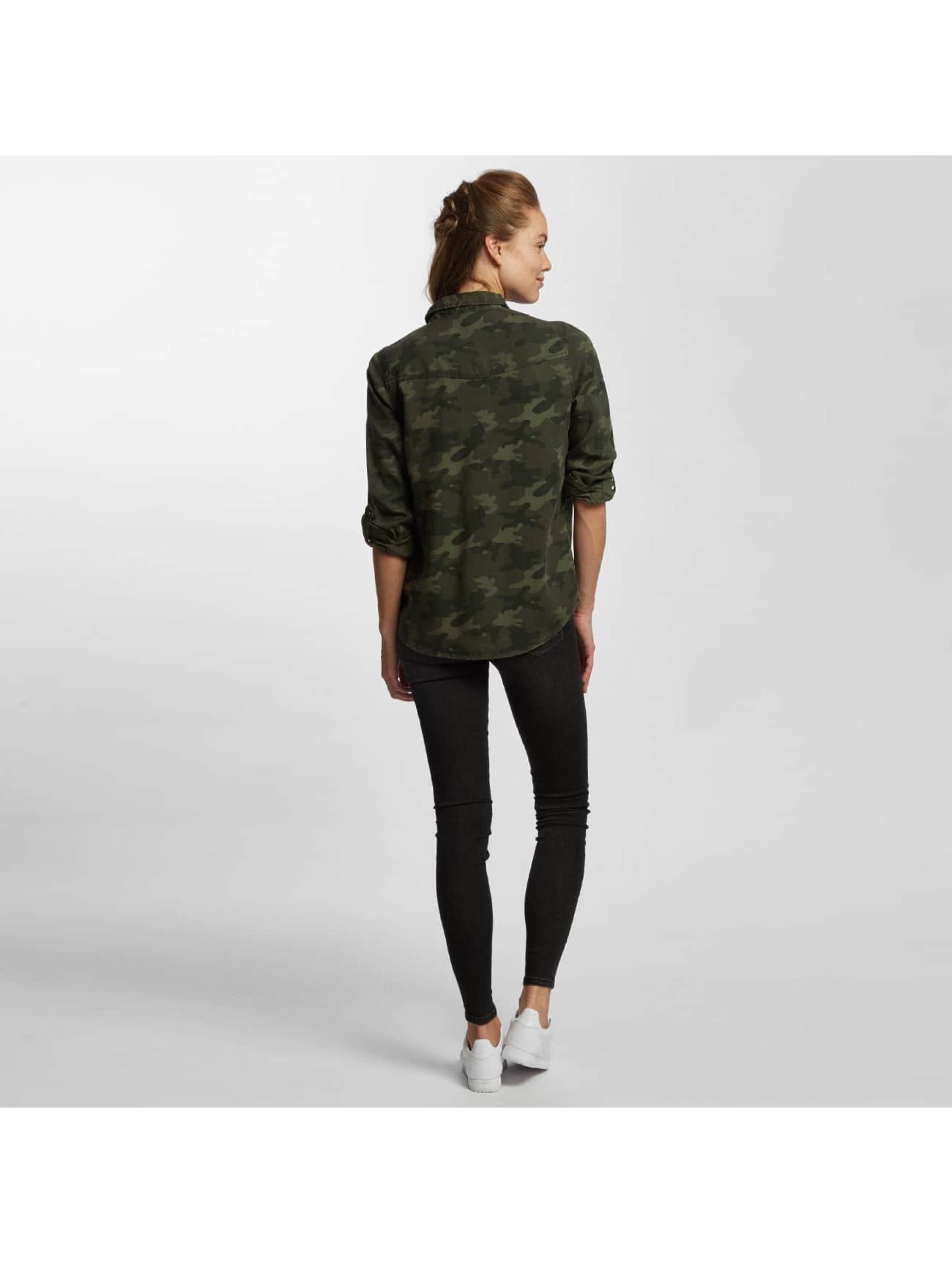 Only Bluse onlLIlah Lyocell Camu camouflage