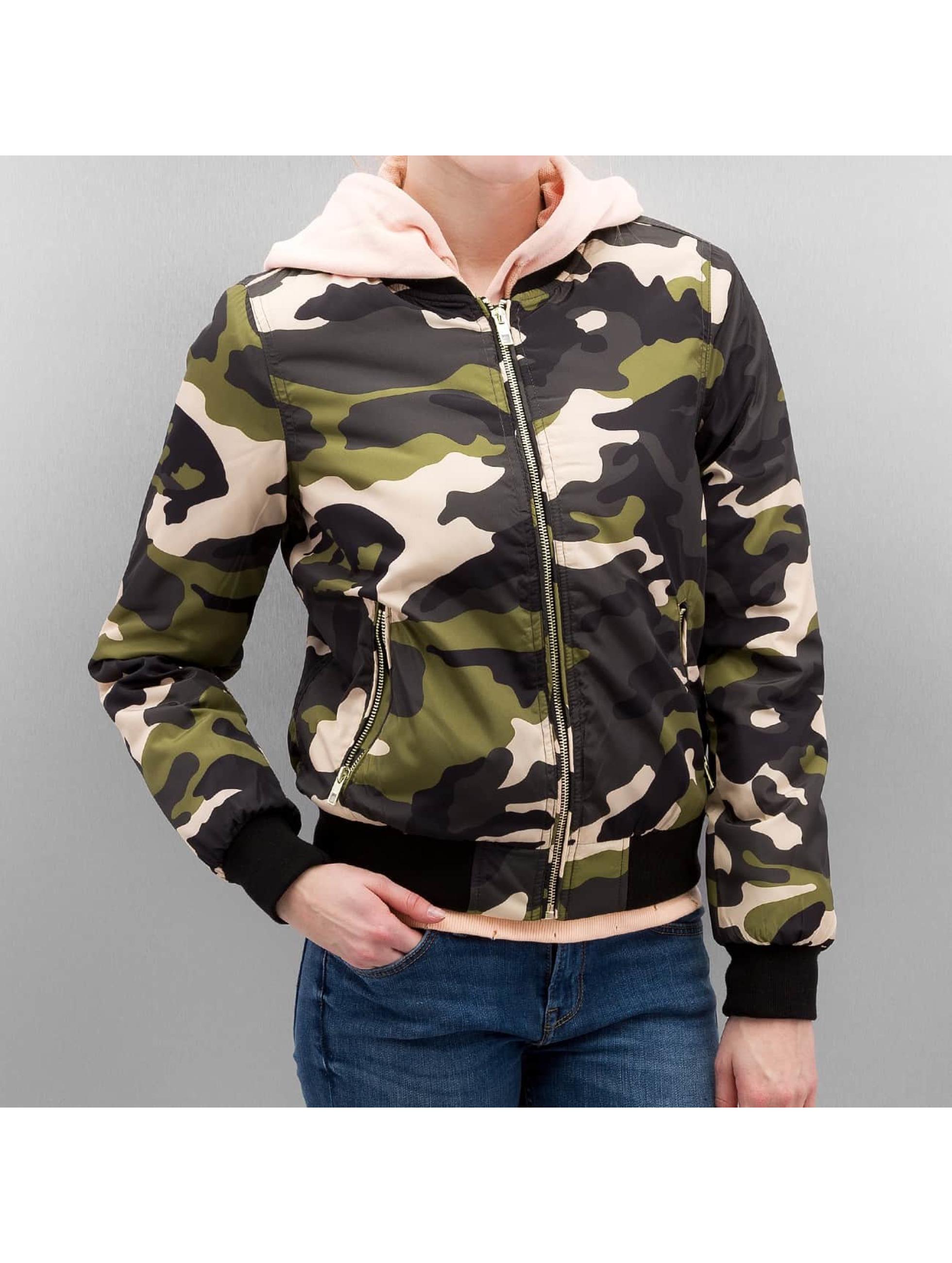 only onlserena camouflage femme bomber only acheter pas cher manteau veste 313029. Black Bedroom Furniture Sets. Home Design Ideas