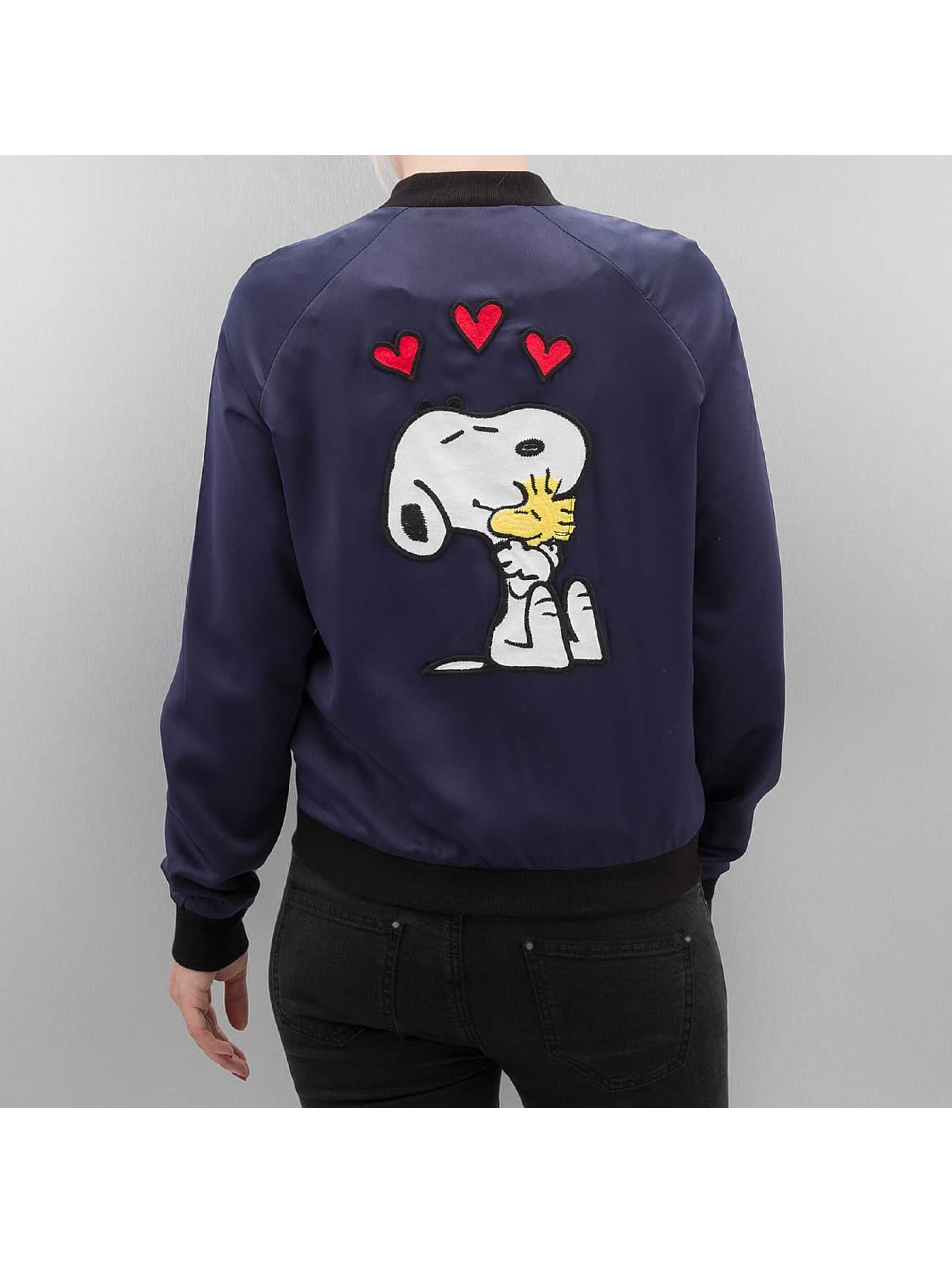Only Bomber jacket onlSnoopy blue