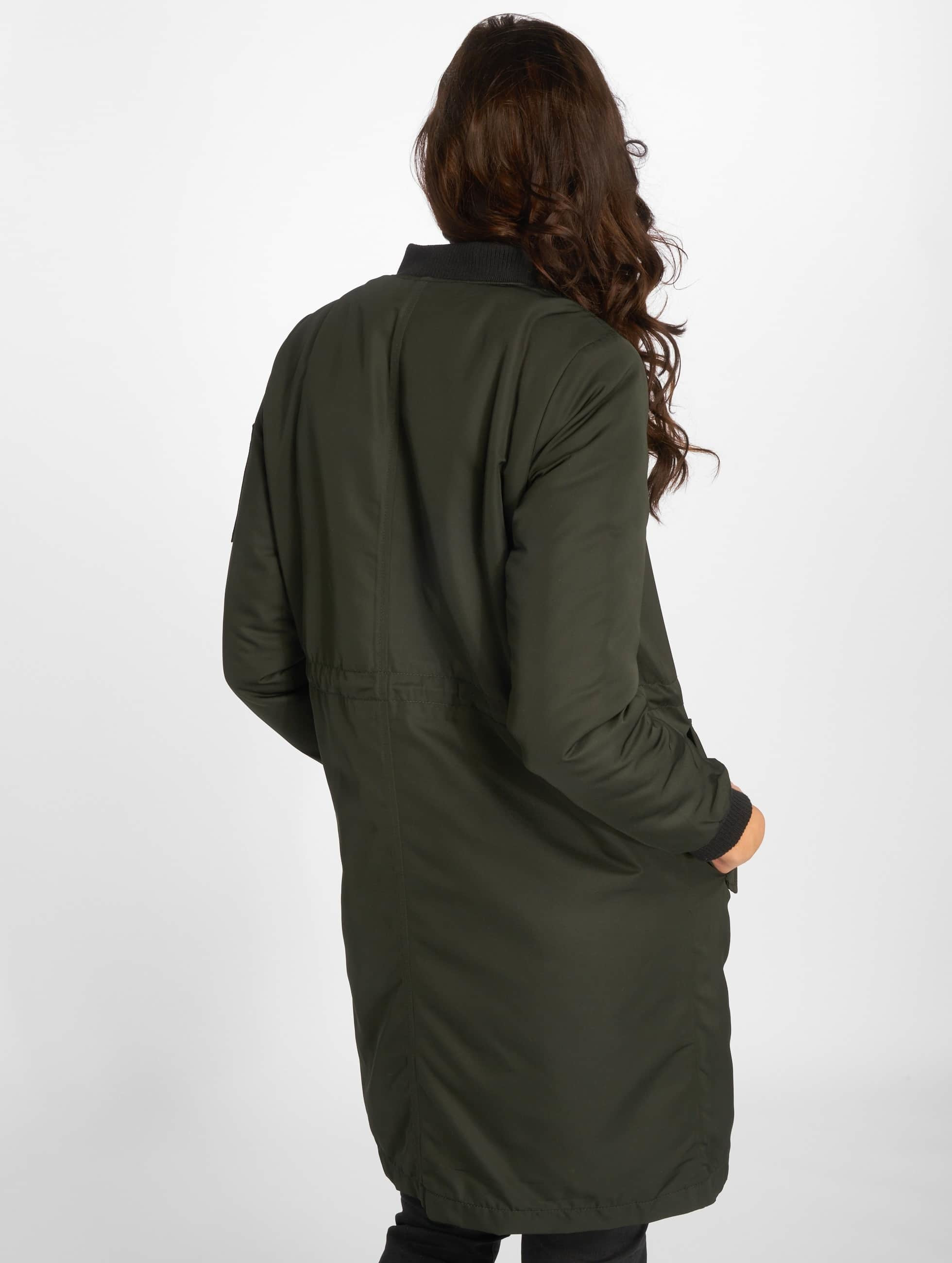 Only Bomber jacket onlElla Long olive