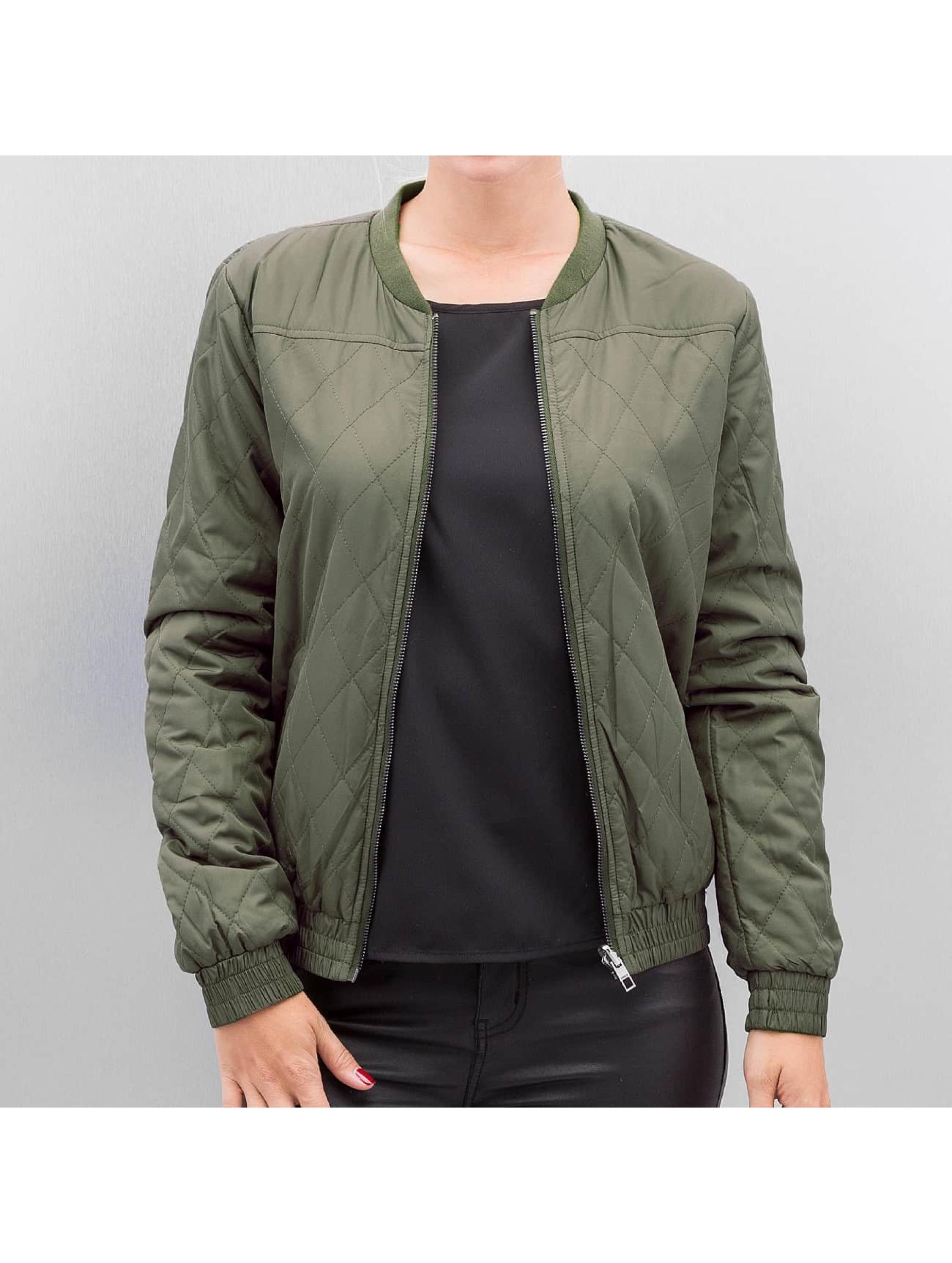 Only Bomber jacket onlSmoke olive