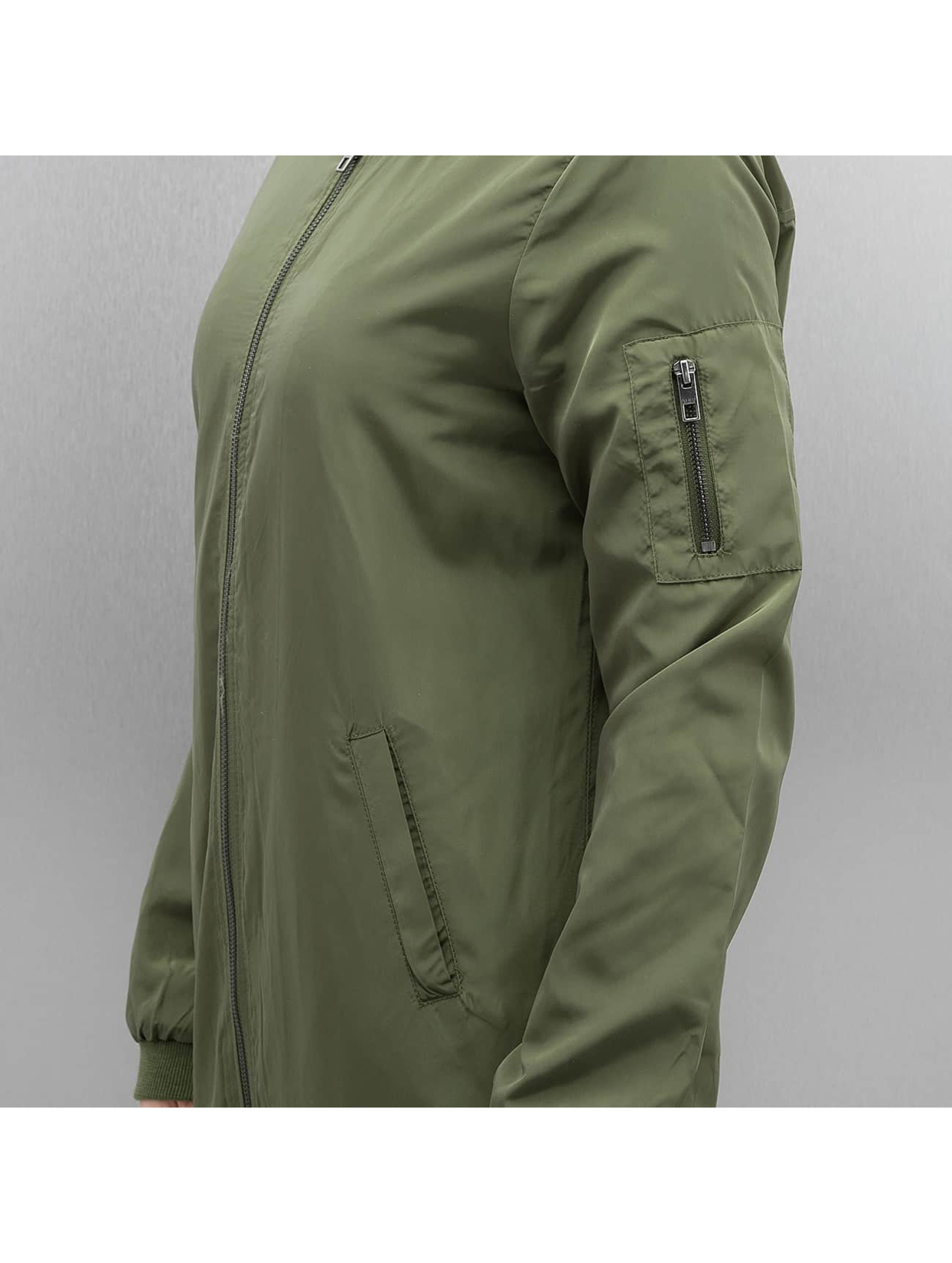 Only Bomber jacket onlLinea Long olive