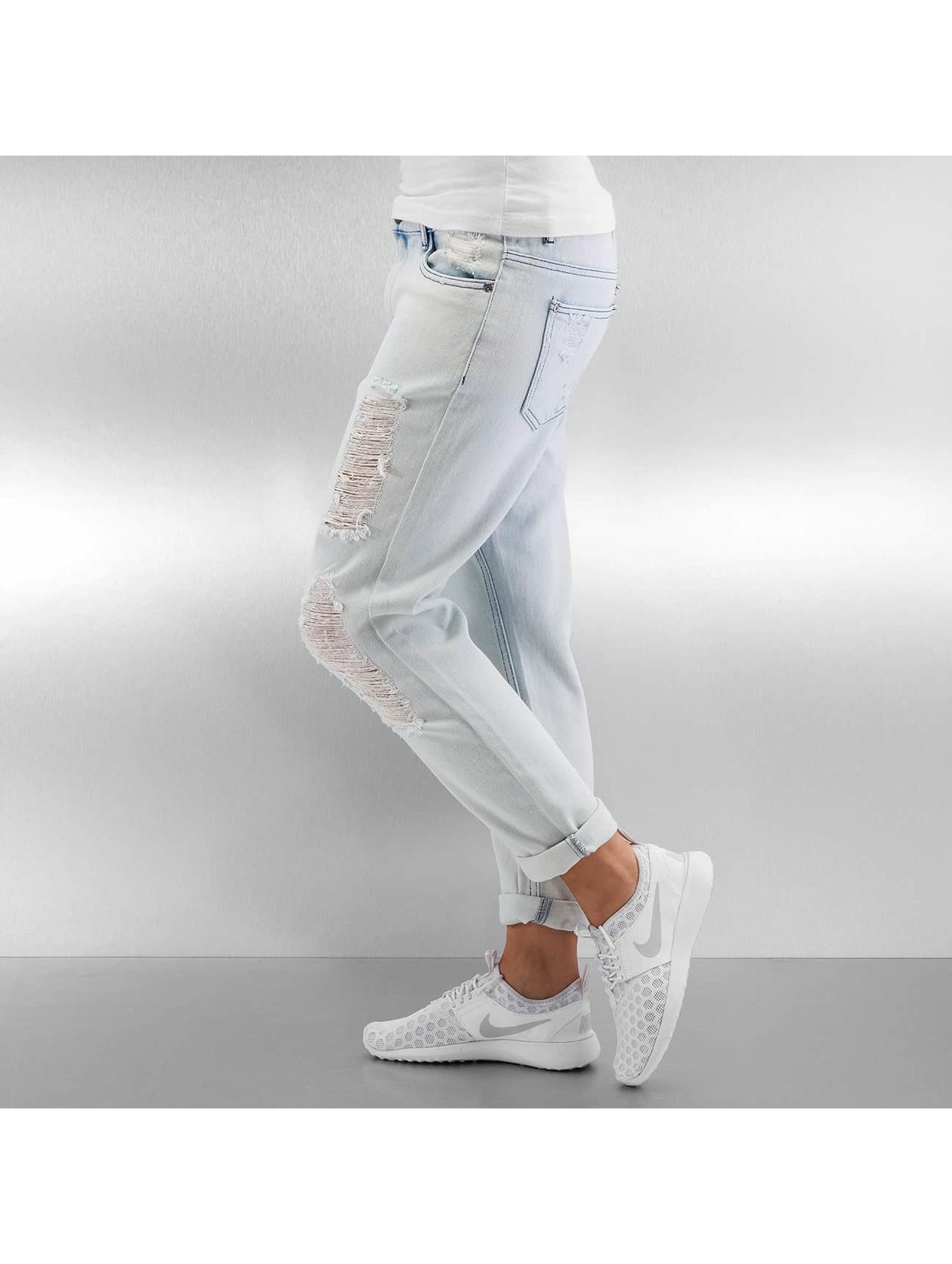 Only Boyfriend jeans onlTonni Denim Bleach blauw