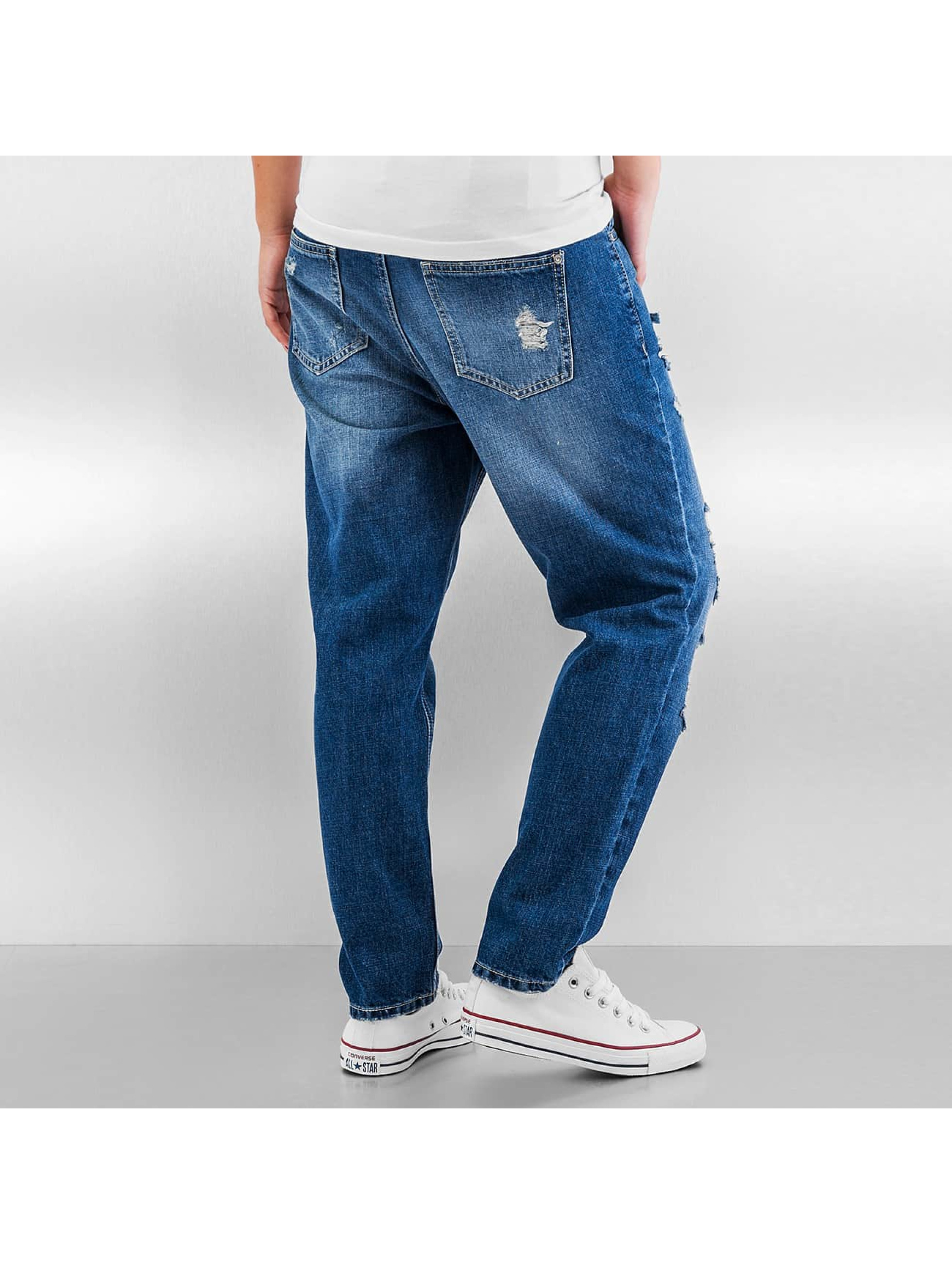 Only Boyfriend jeans onlTonni Destroyed Boyfriend blauw