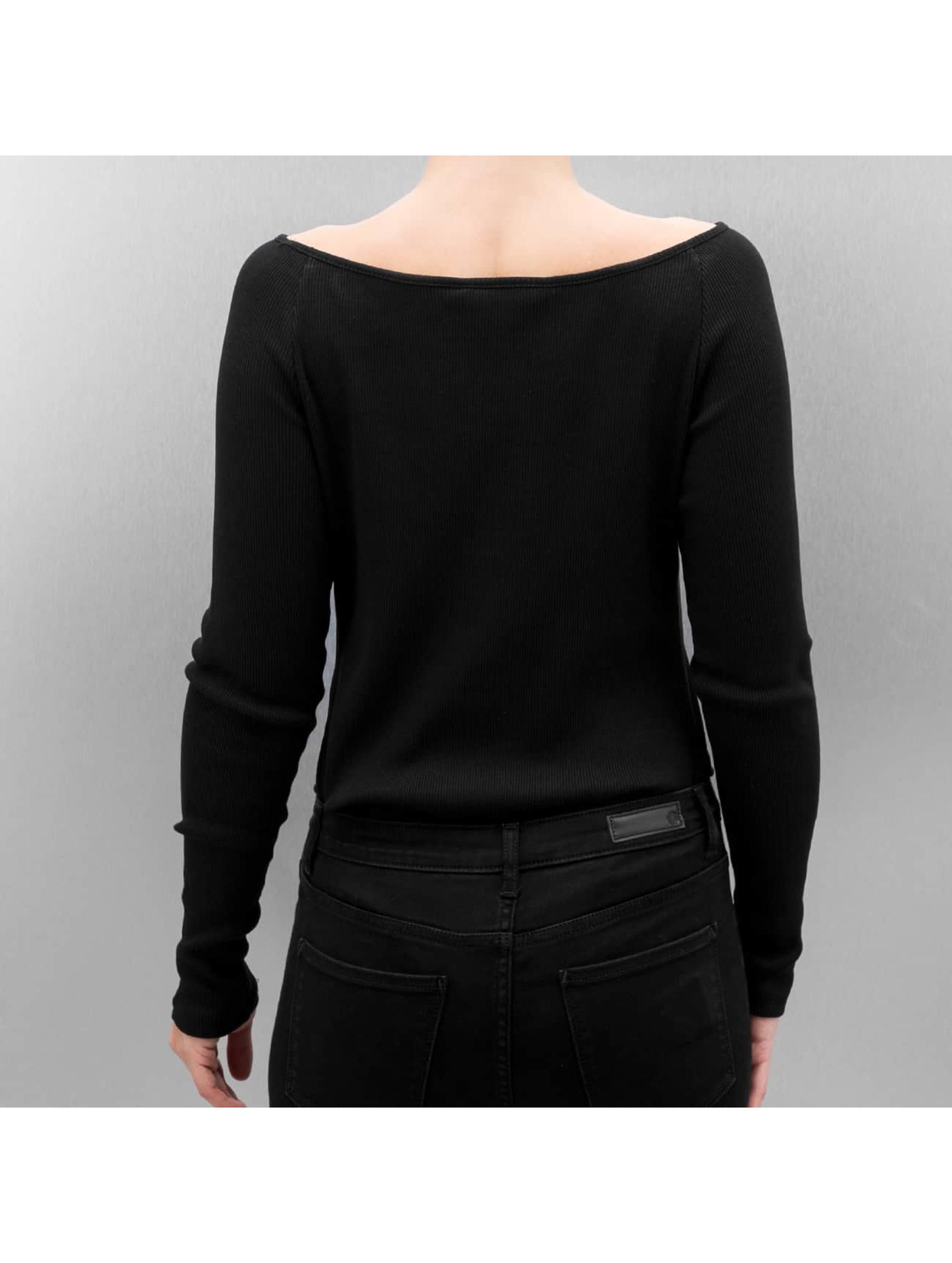 Only Camiseta de manga larga onlMaritta Body negro