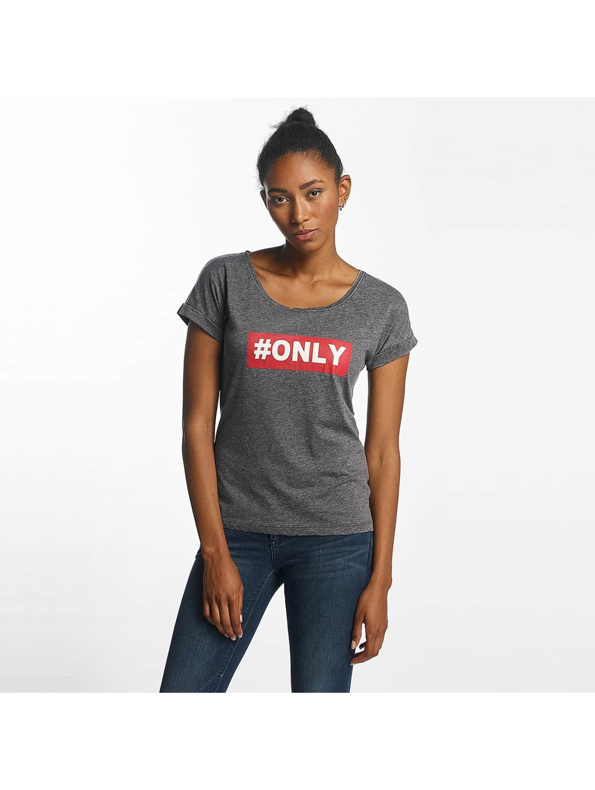 Only Camiseta onlTruly negro