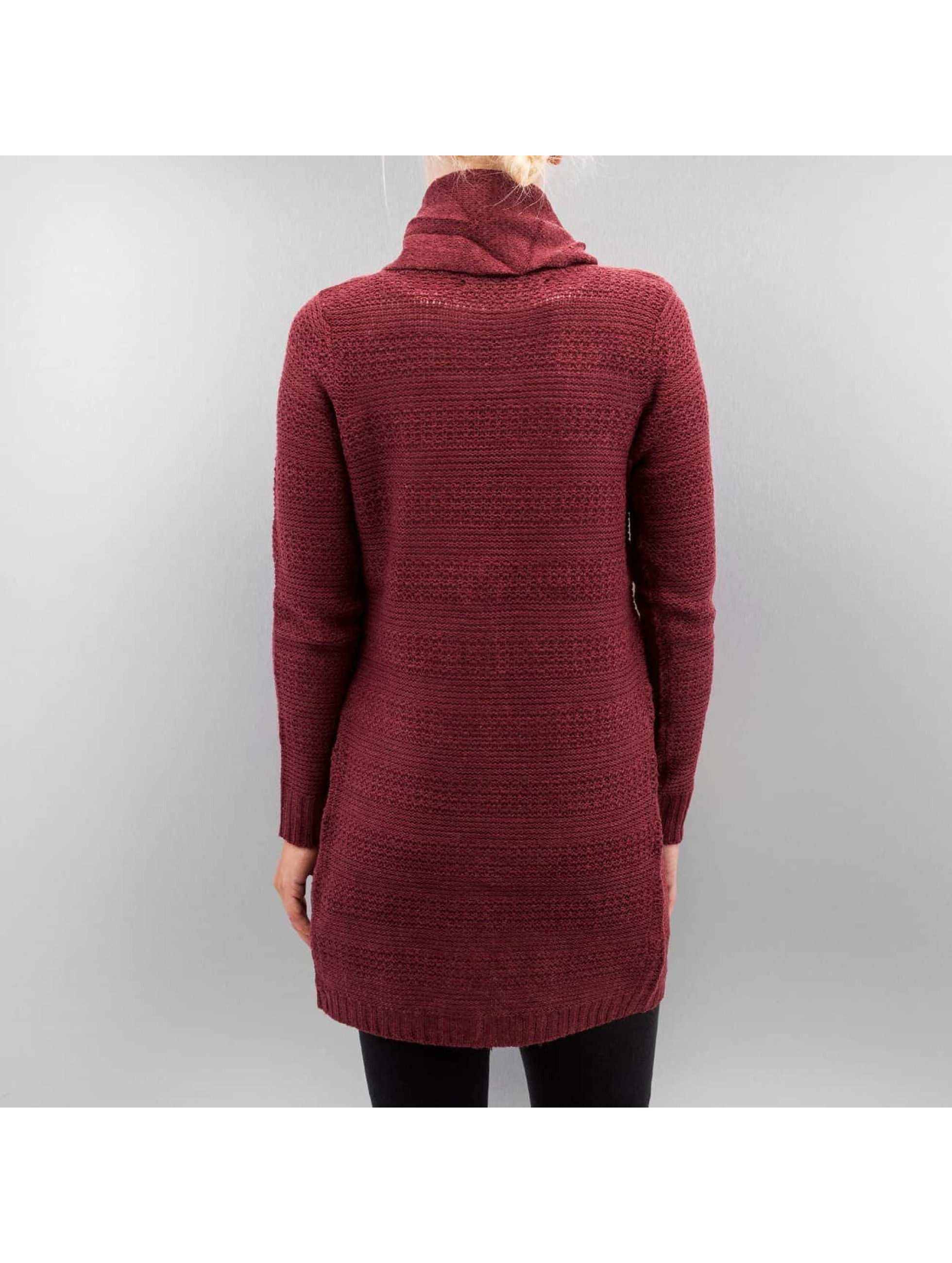 Only Cardigan onlNew Rami Long Button rouge