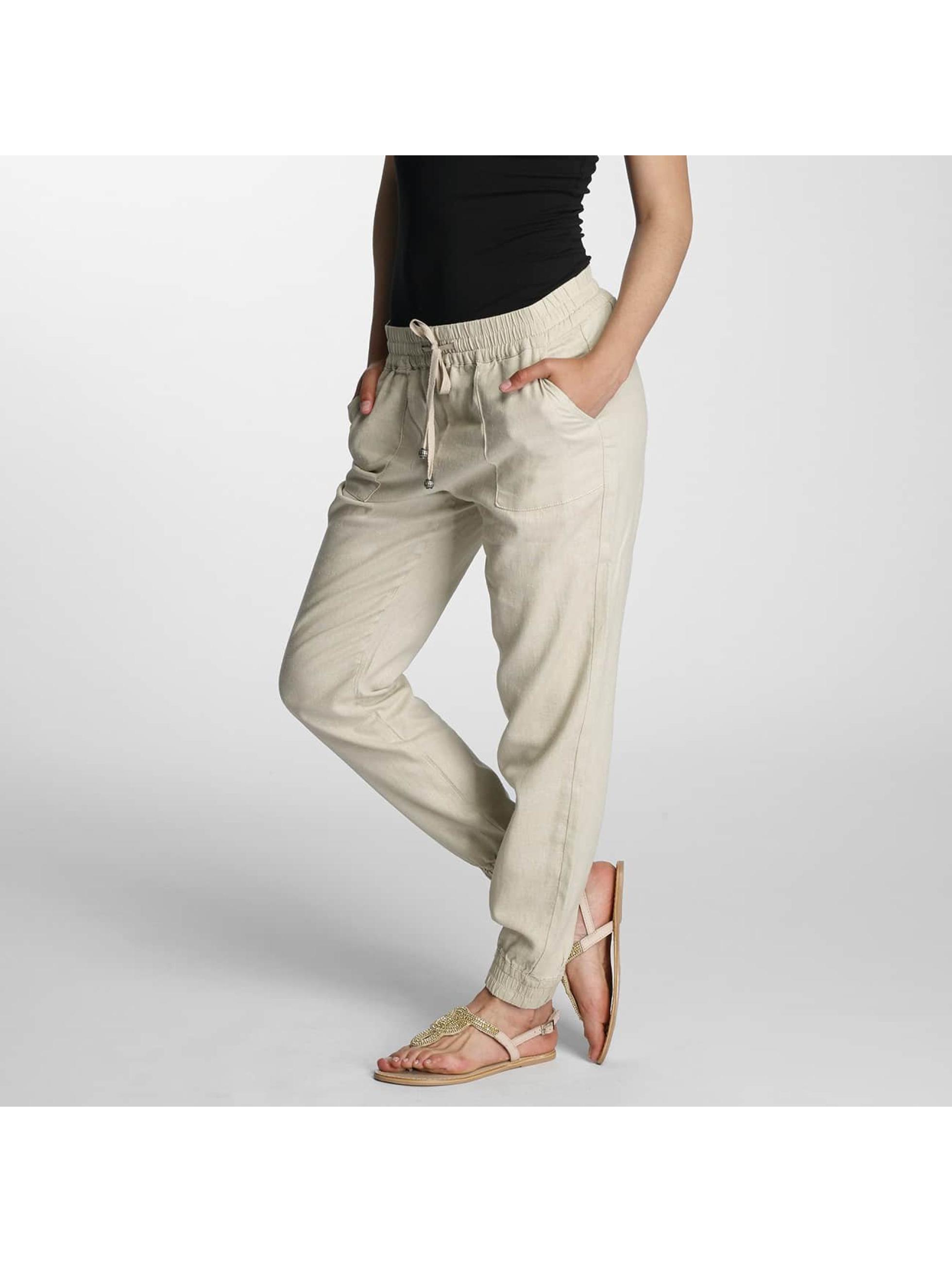 Only Pantalon / Chino onlSummer en beige