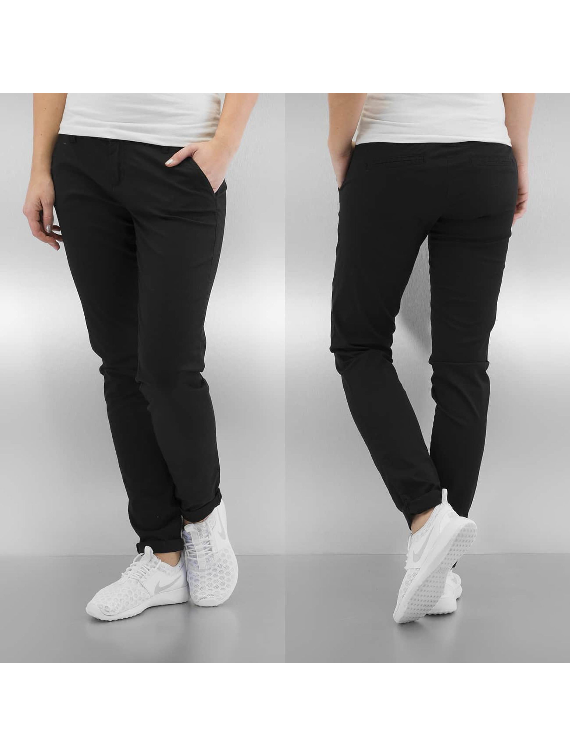 Only Chino onlParis Low Skinny zwart