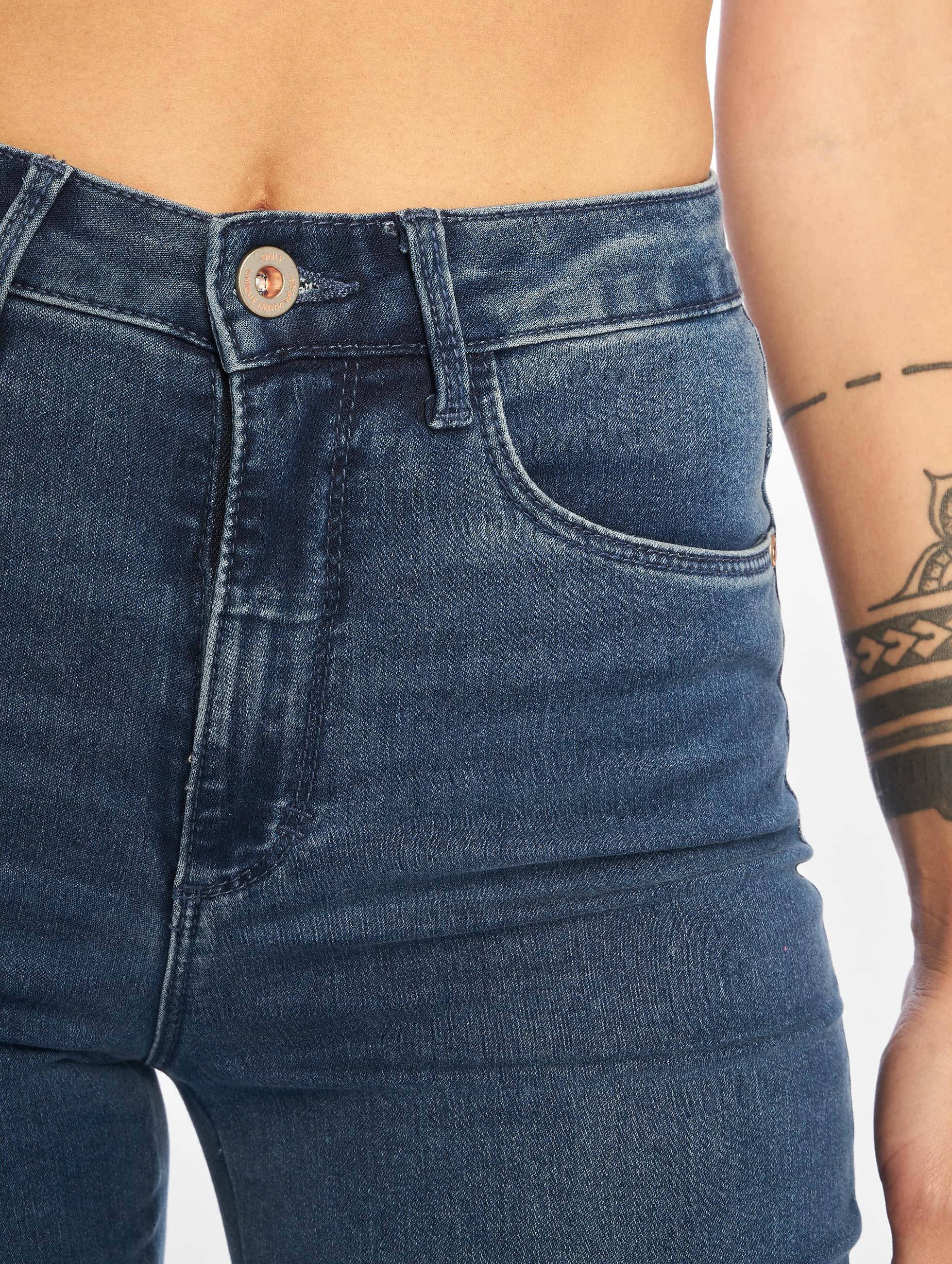 Only High Waist Jeans onlRoyal Highwaist blau