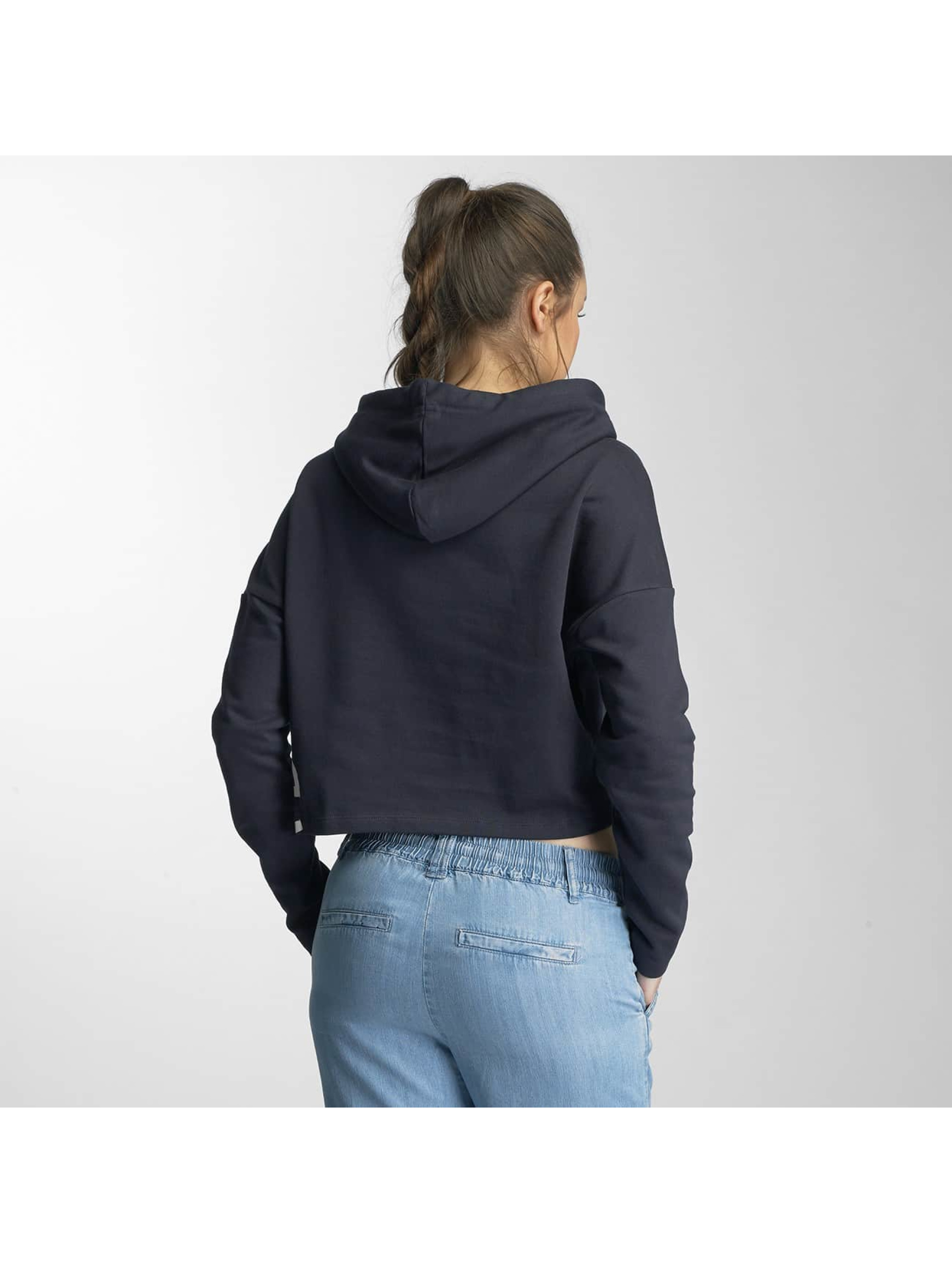 Only Hoody onlHana Cropped blau