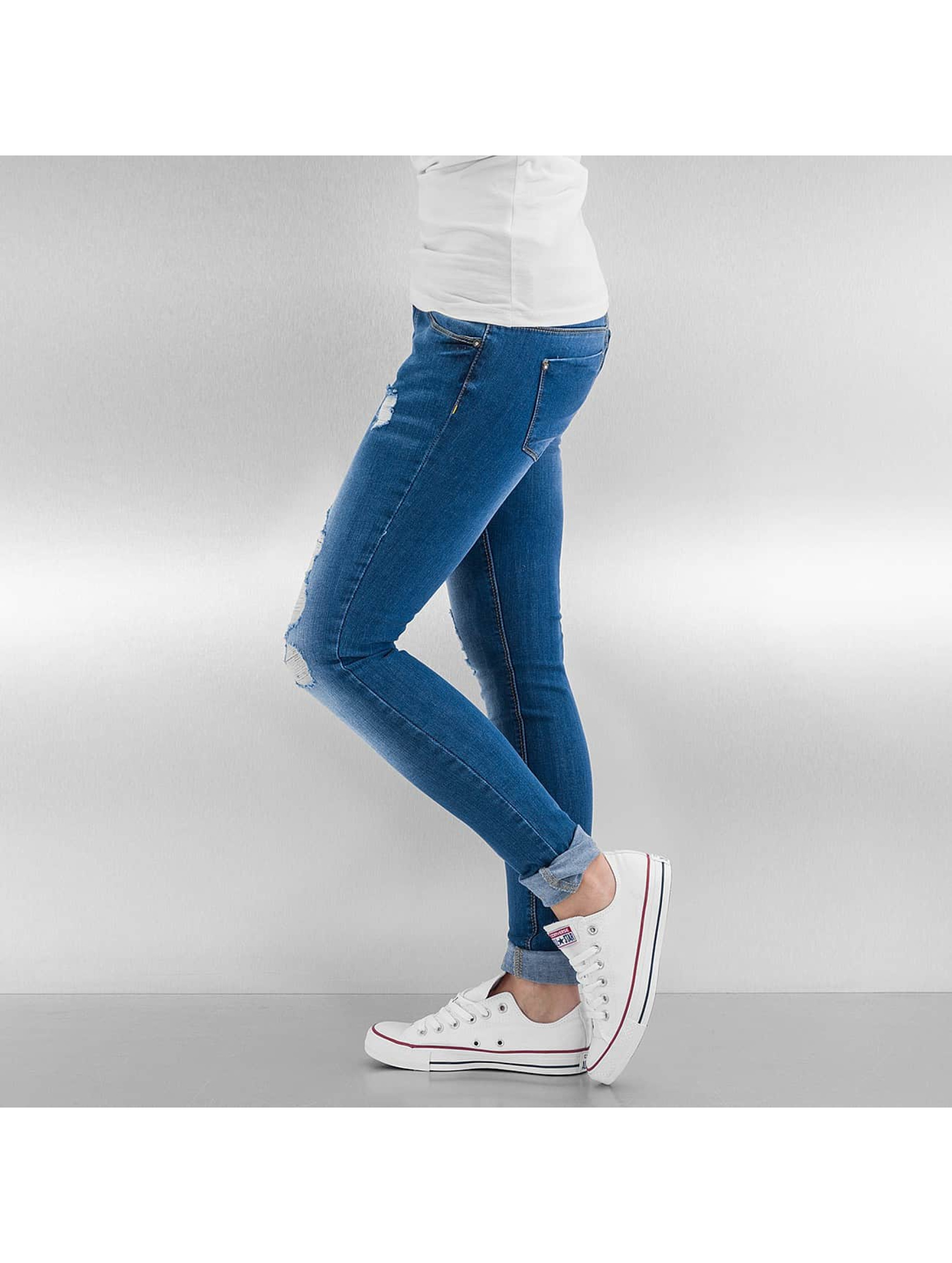 Only Jean skinny onlCoral bleu