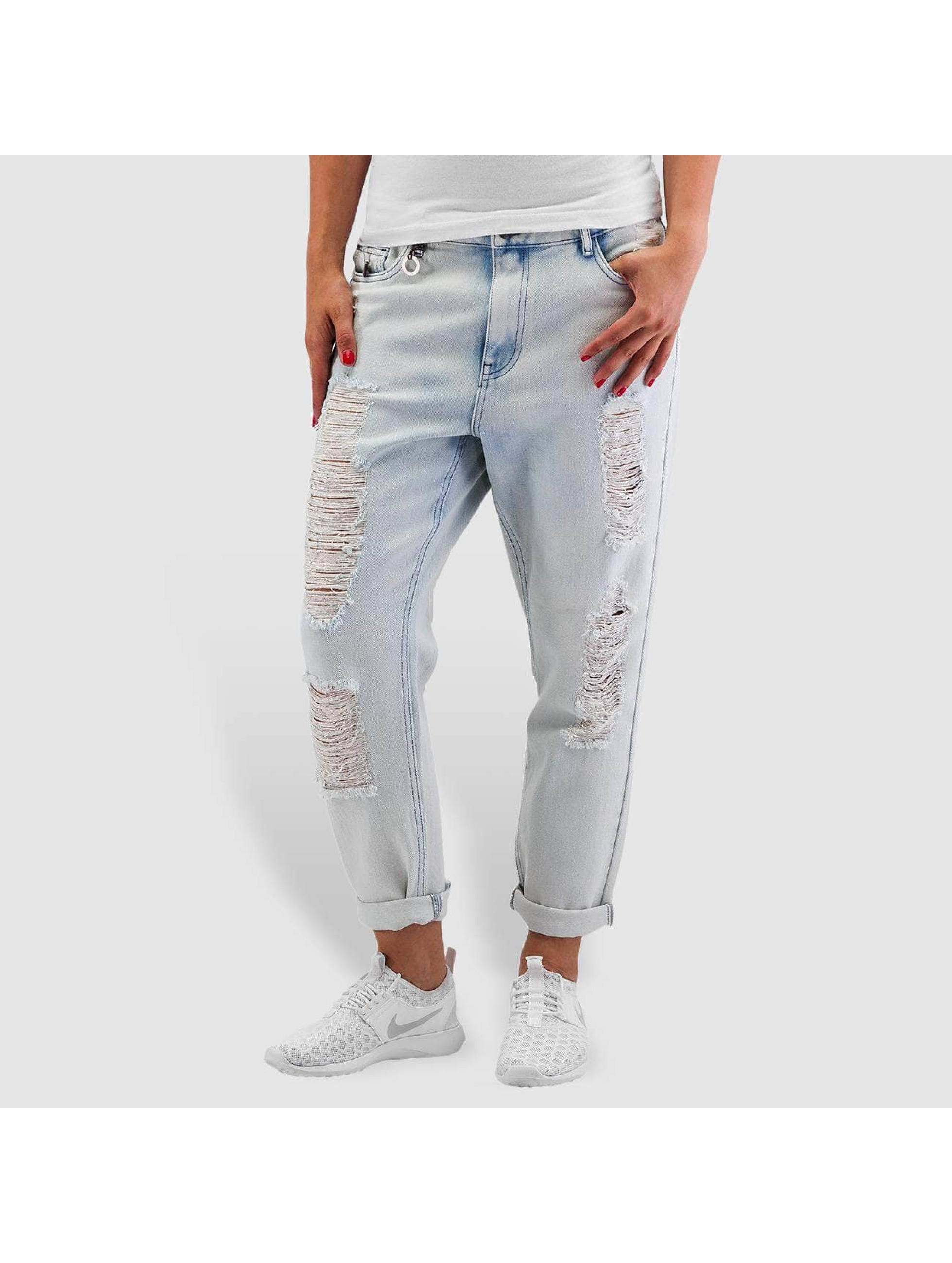 Only Jean / Jeans Boyfriend onlTonni Denim Bleach en bleu