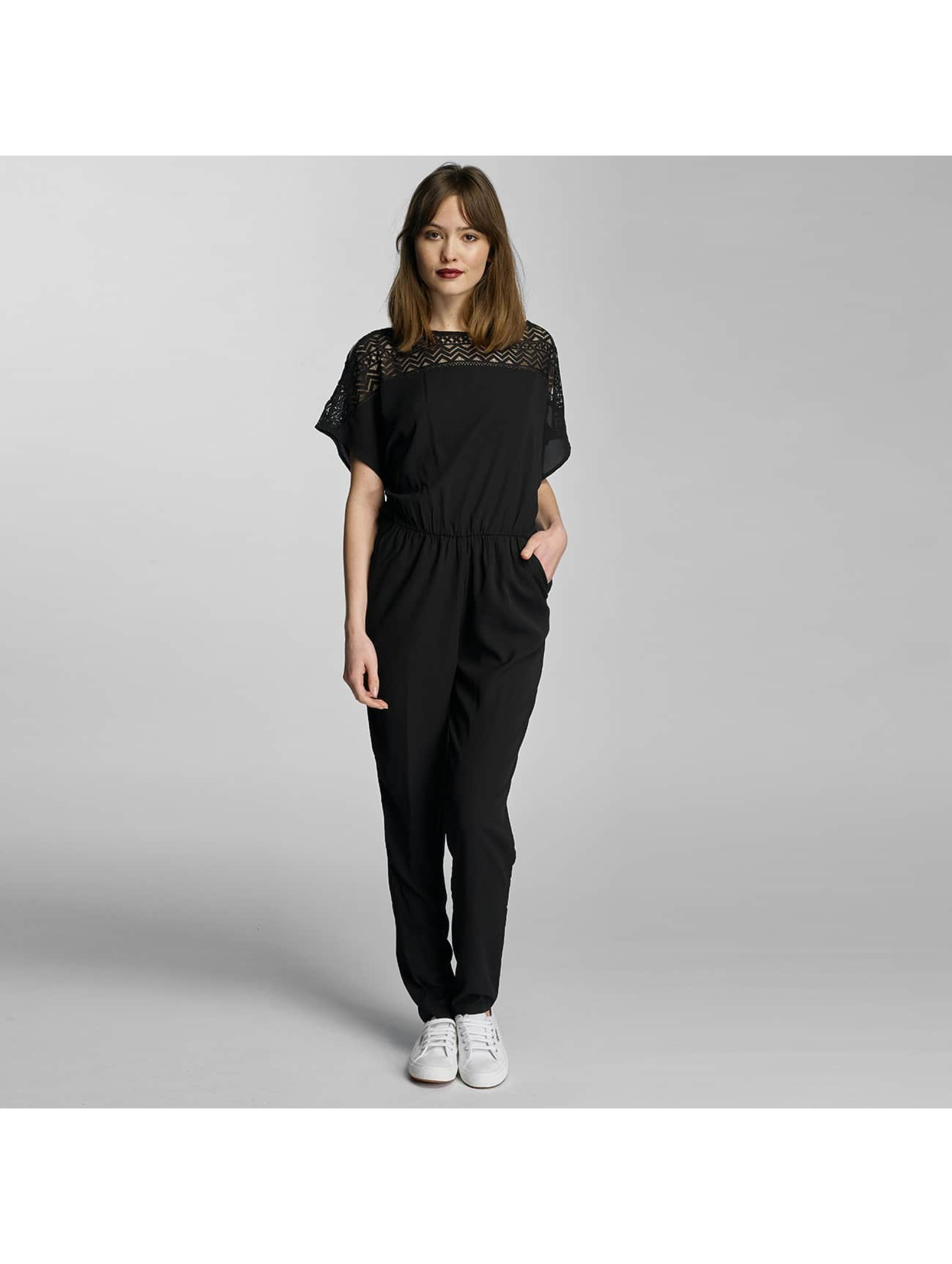 Only Jumpsuit onlmollie Cold Shoulder schwarz