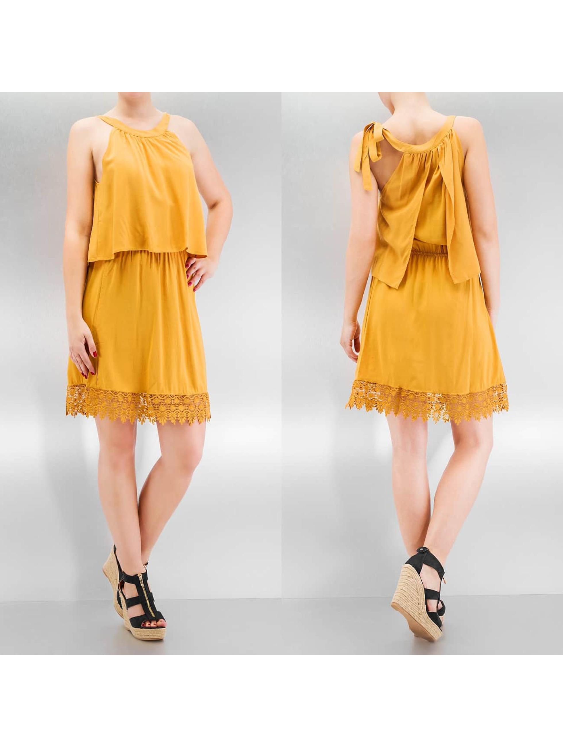 Only jurk onlAudrey Mina geel