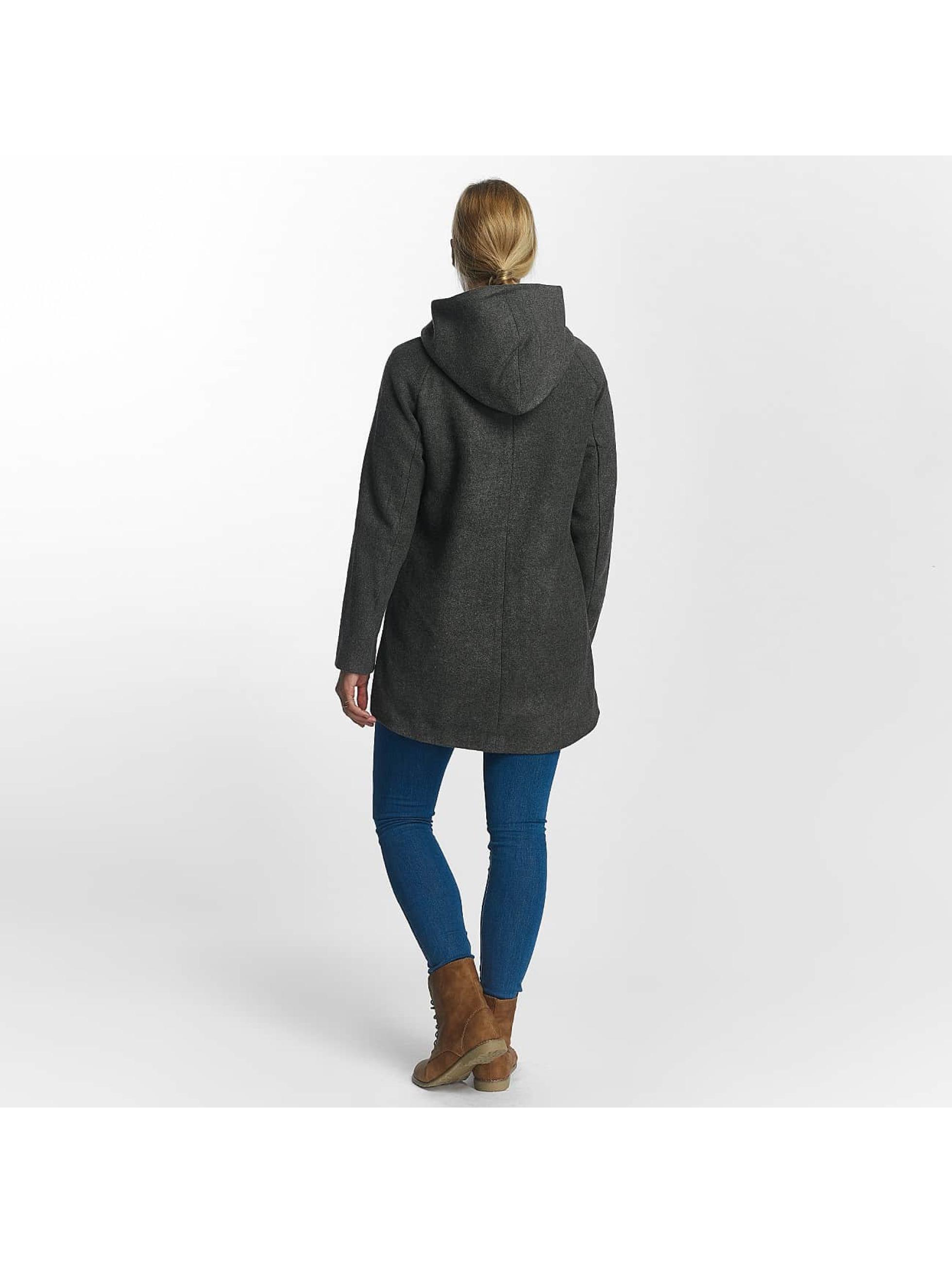 Only Kabáty onlDogville Camille Wool šedá