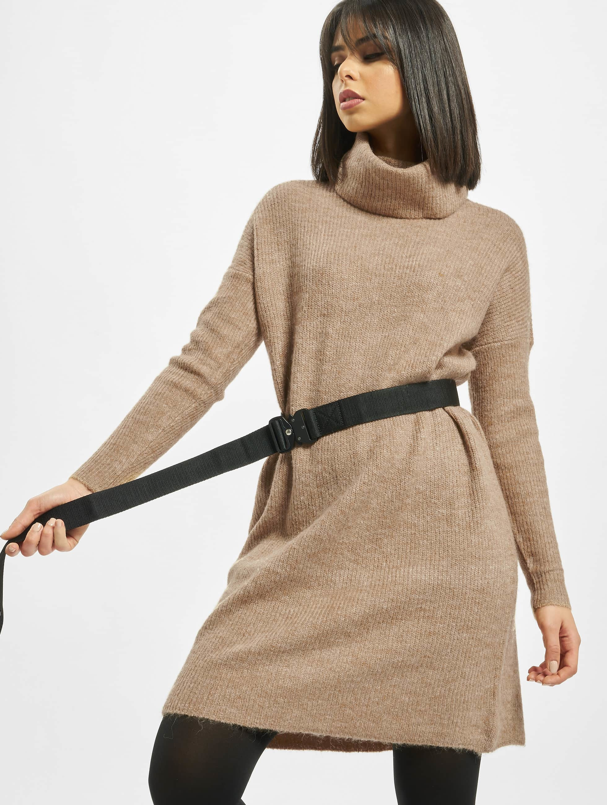 only damen kleid onljana wool knit in braun 691806