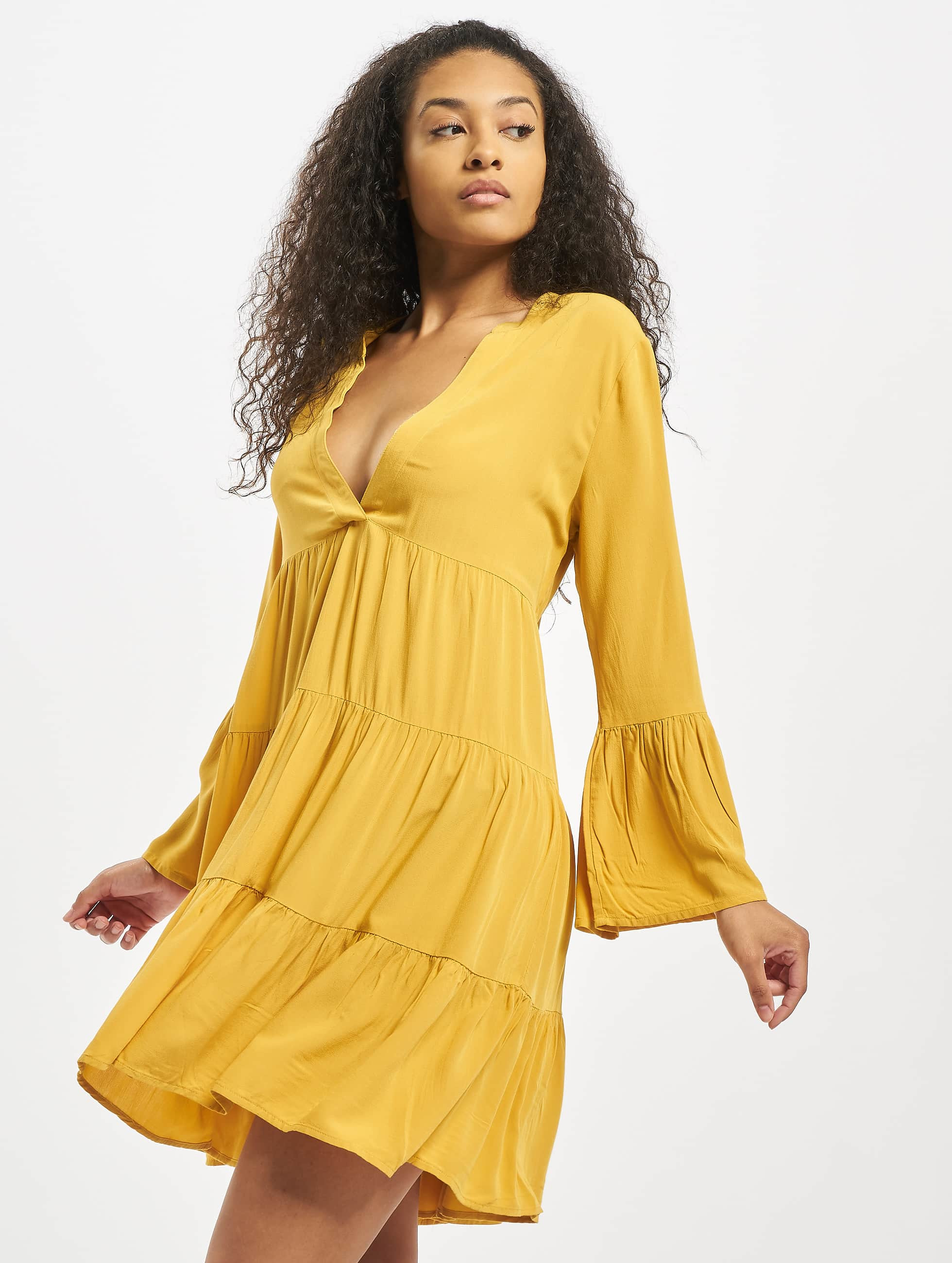 only onlnancy athena dress golden spice