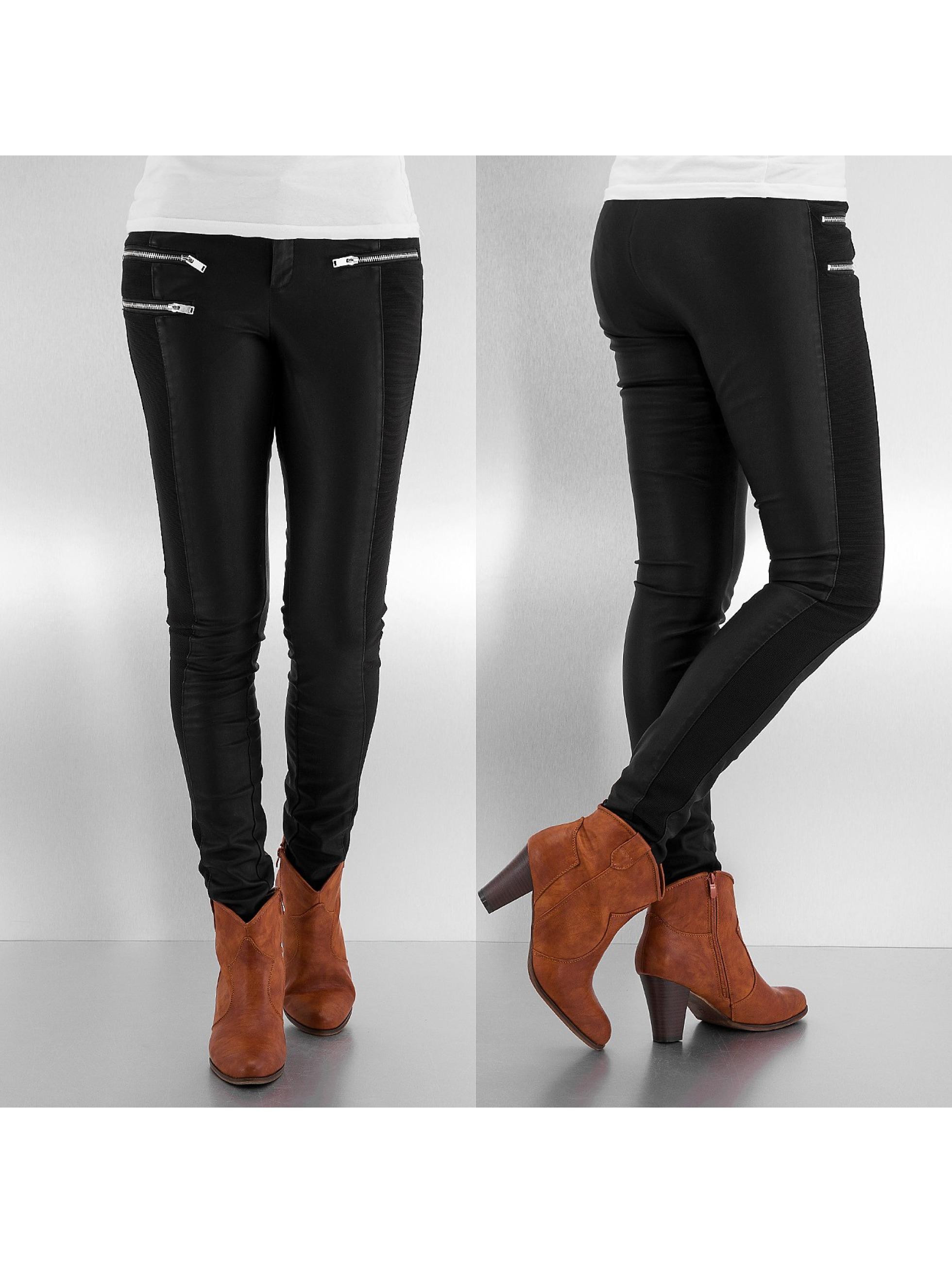 Legging Forever PU in schwarz