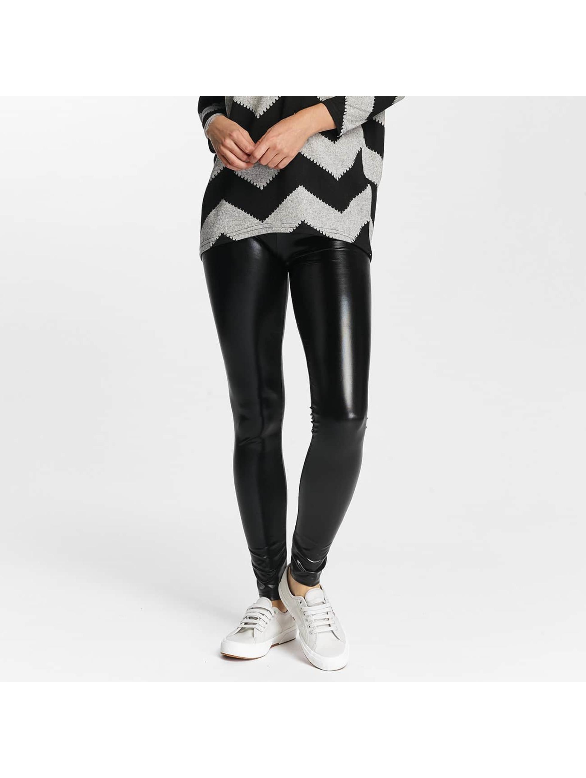 Only Legging onlShine Foil Coated schwarz