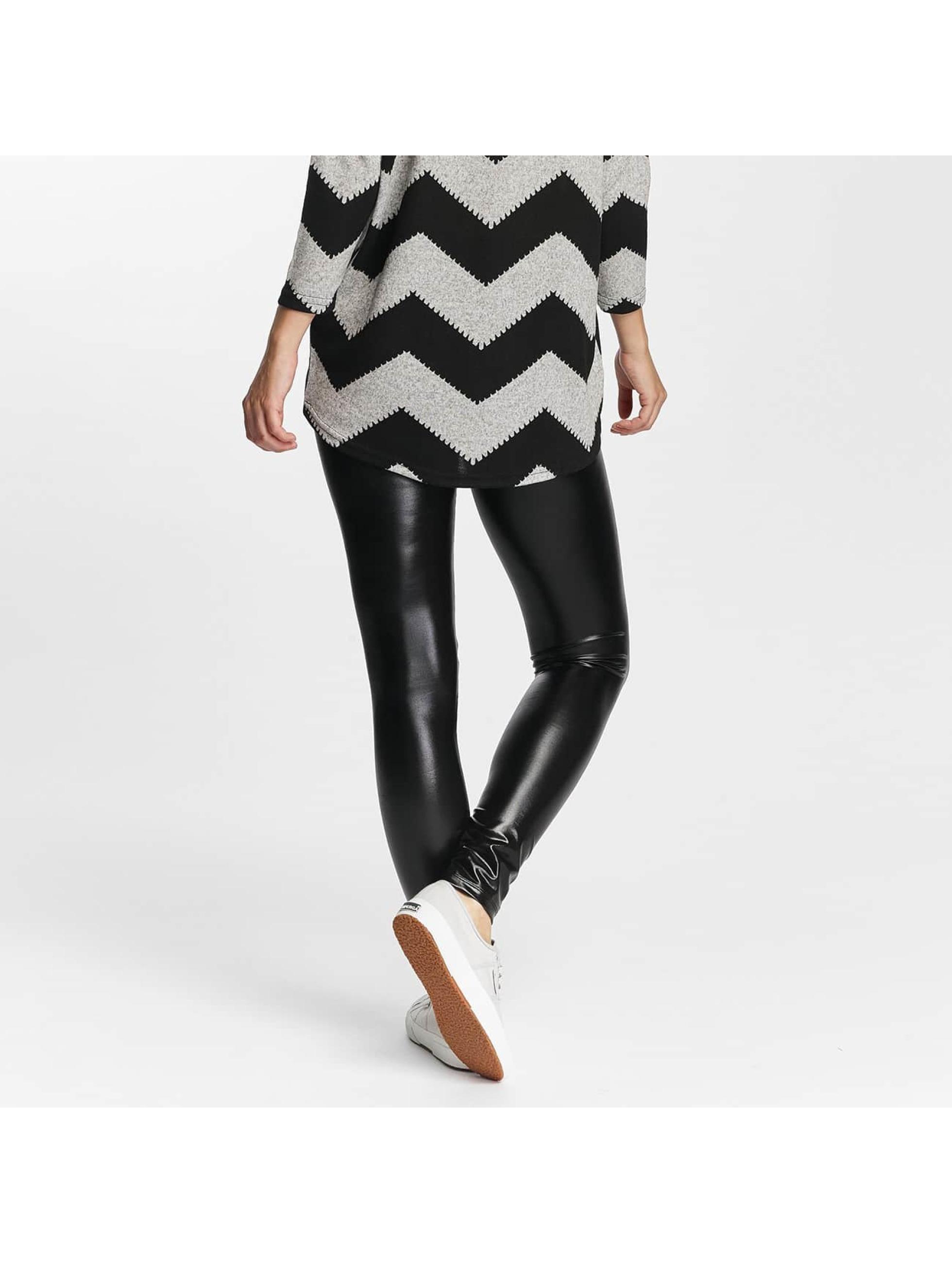 Only Leggings/Treggings onlShine Foil Coated black