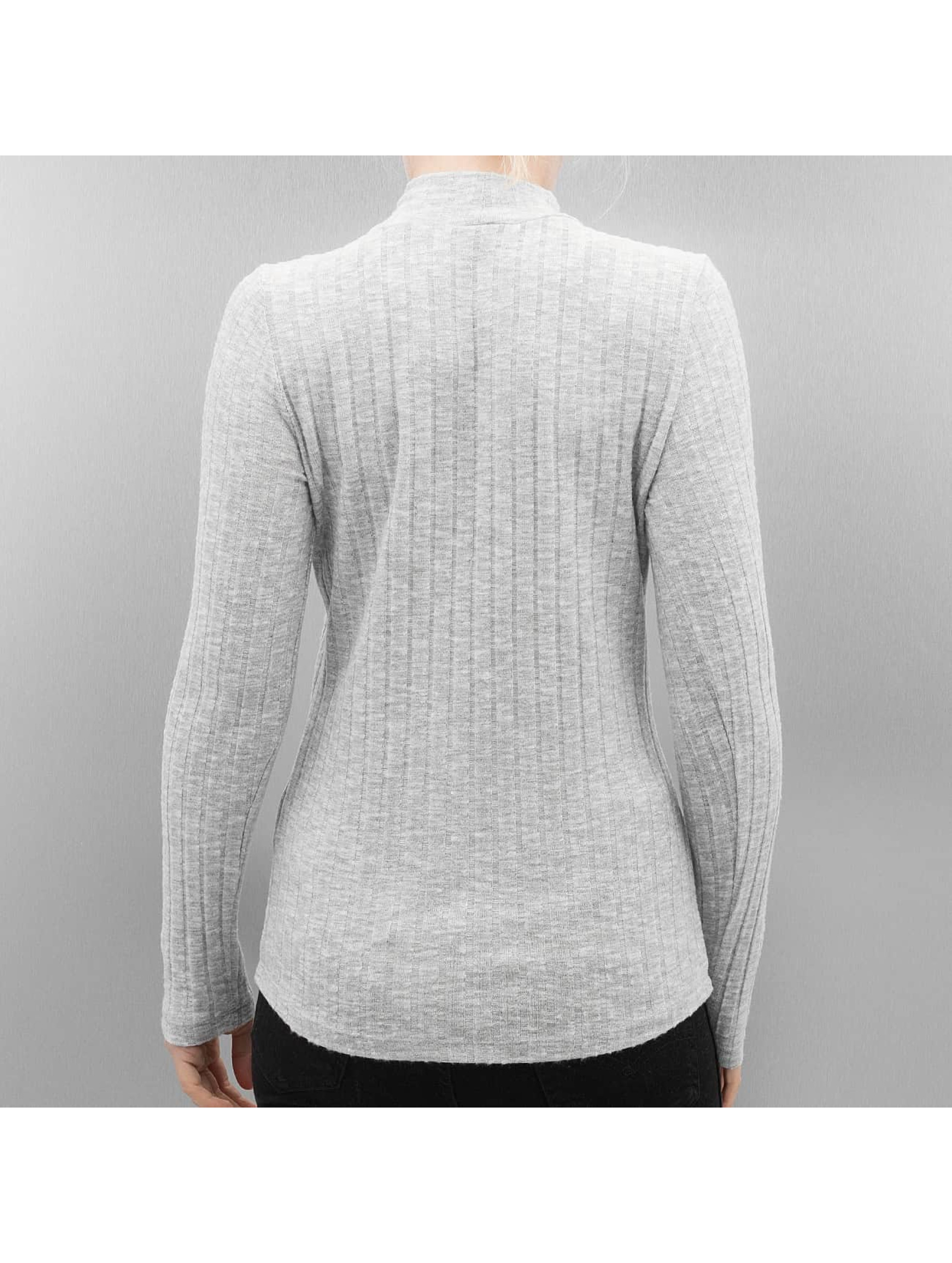 Only Longsleeve onlGreat Ripena High Neck grey