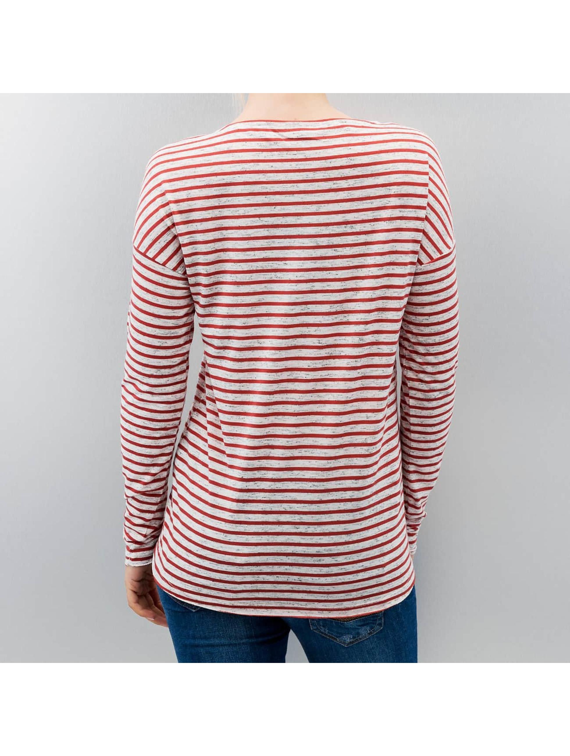 Only Pitkähihaiset paidat onlClare Pocket Stripes valkoinen