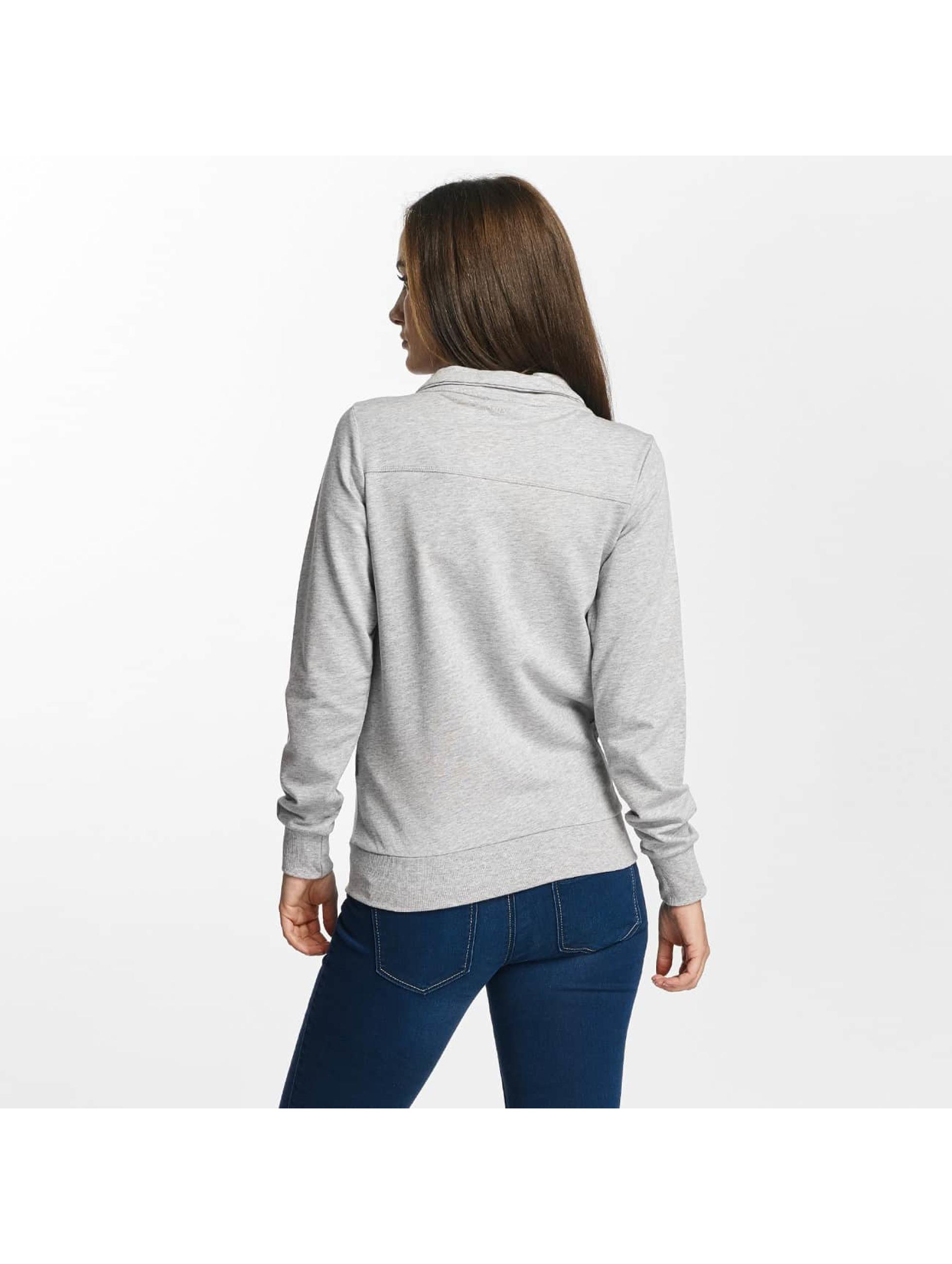 Only Play Lightweight Jacket onpLina High Neck Zipper grey