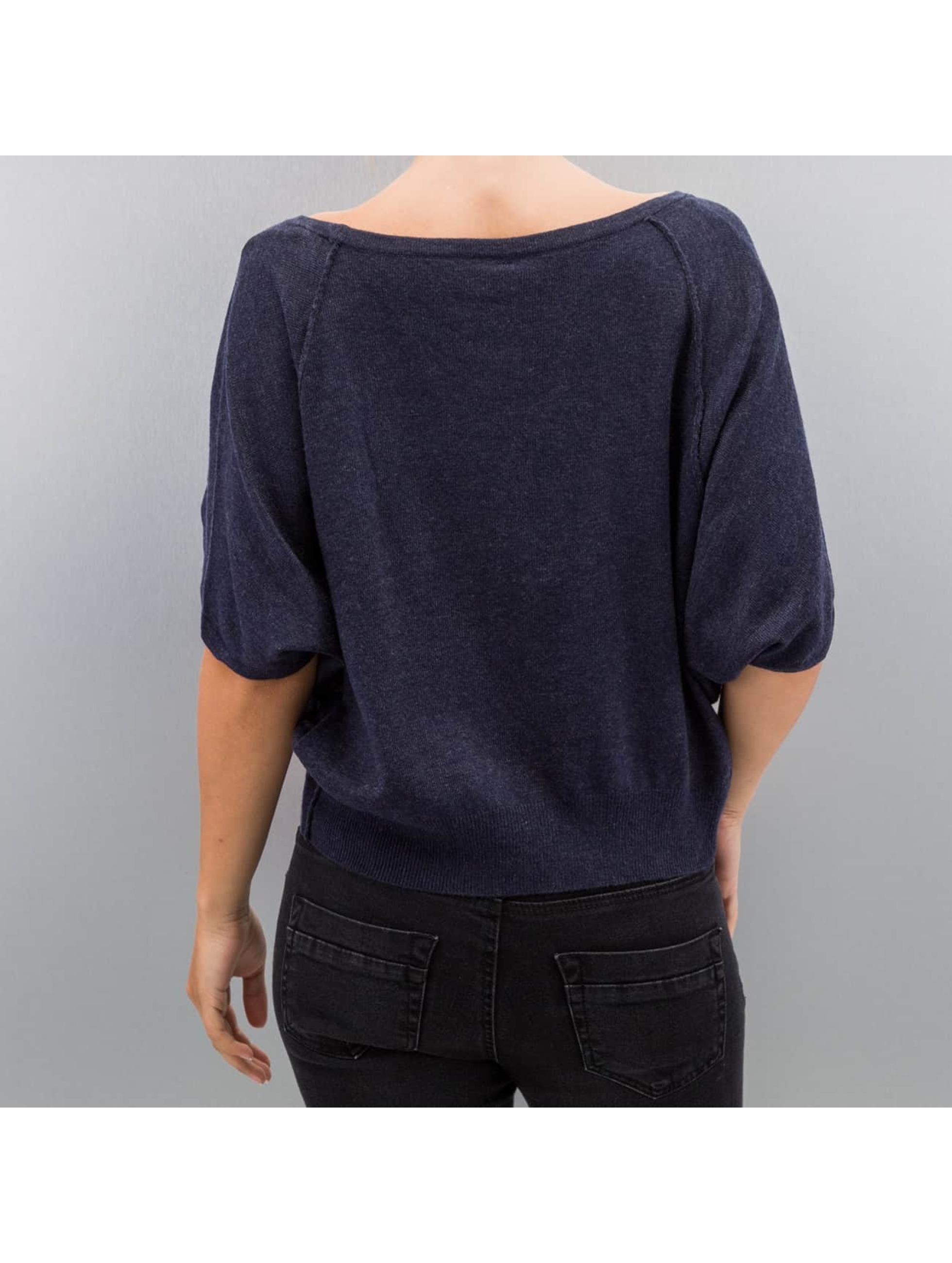 Only Pullover onlKareen 3/4 Oversize blau