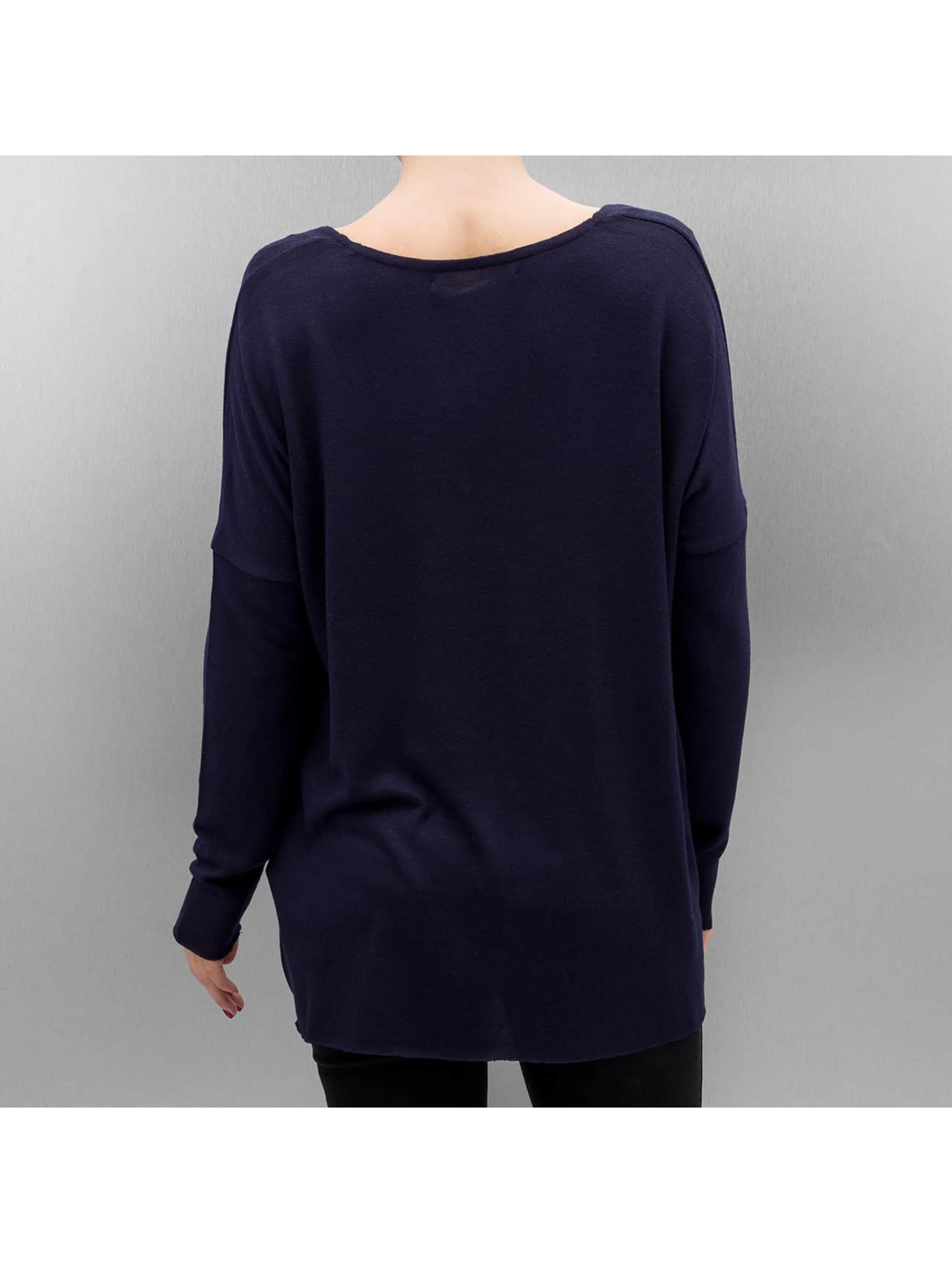 only damen pullover onlidaho in blau 311826. Black Bedroom Furniture Sets. Home Design Ideas