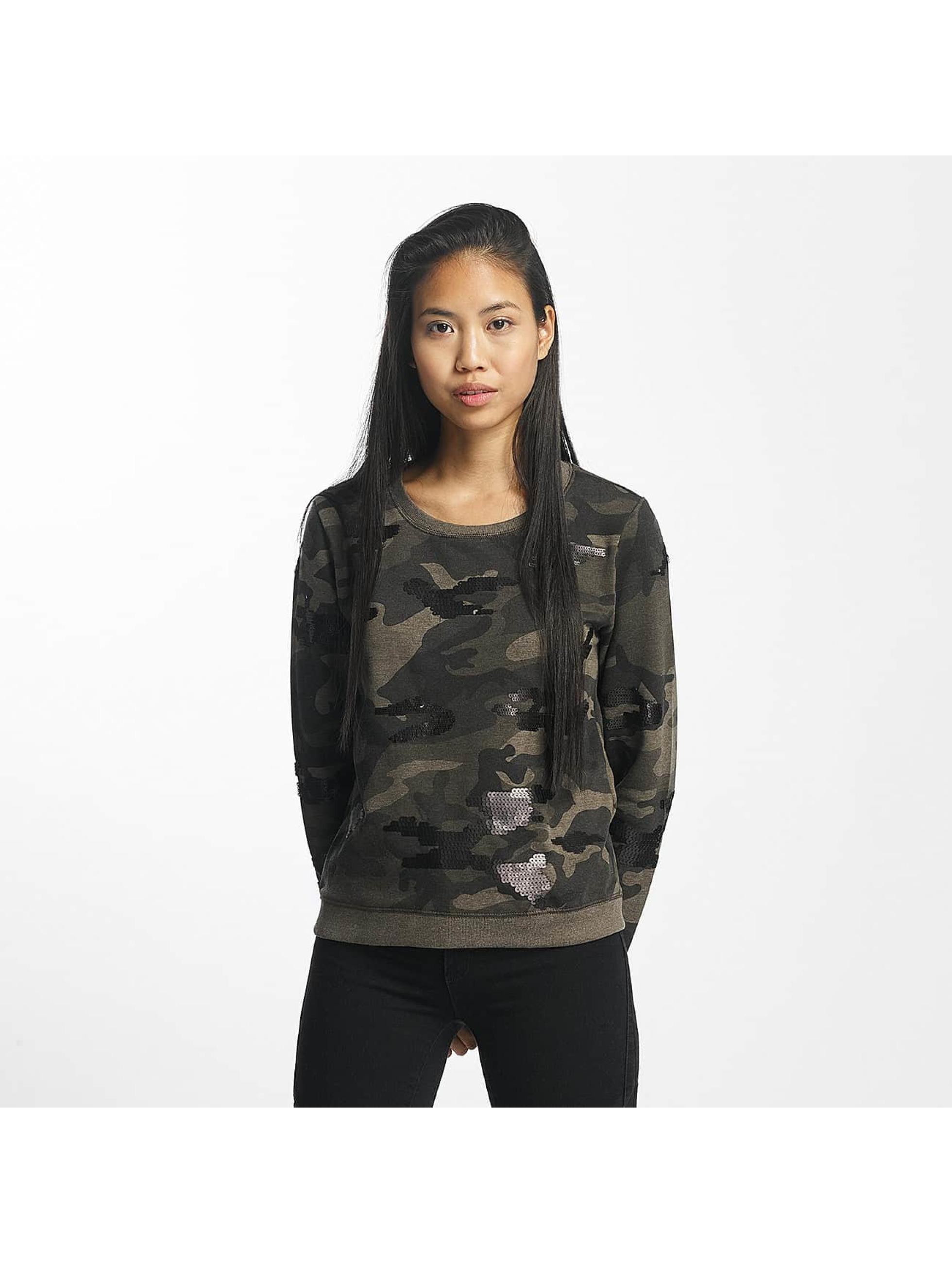 only damen pullover onlliva in camouflage 370246. Black Bedroom Furniture Sets. Home Design Ideas