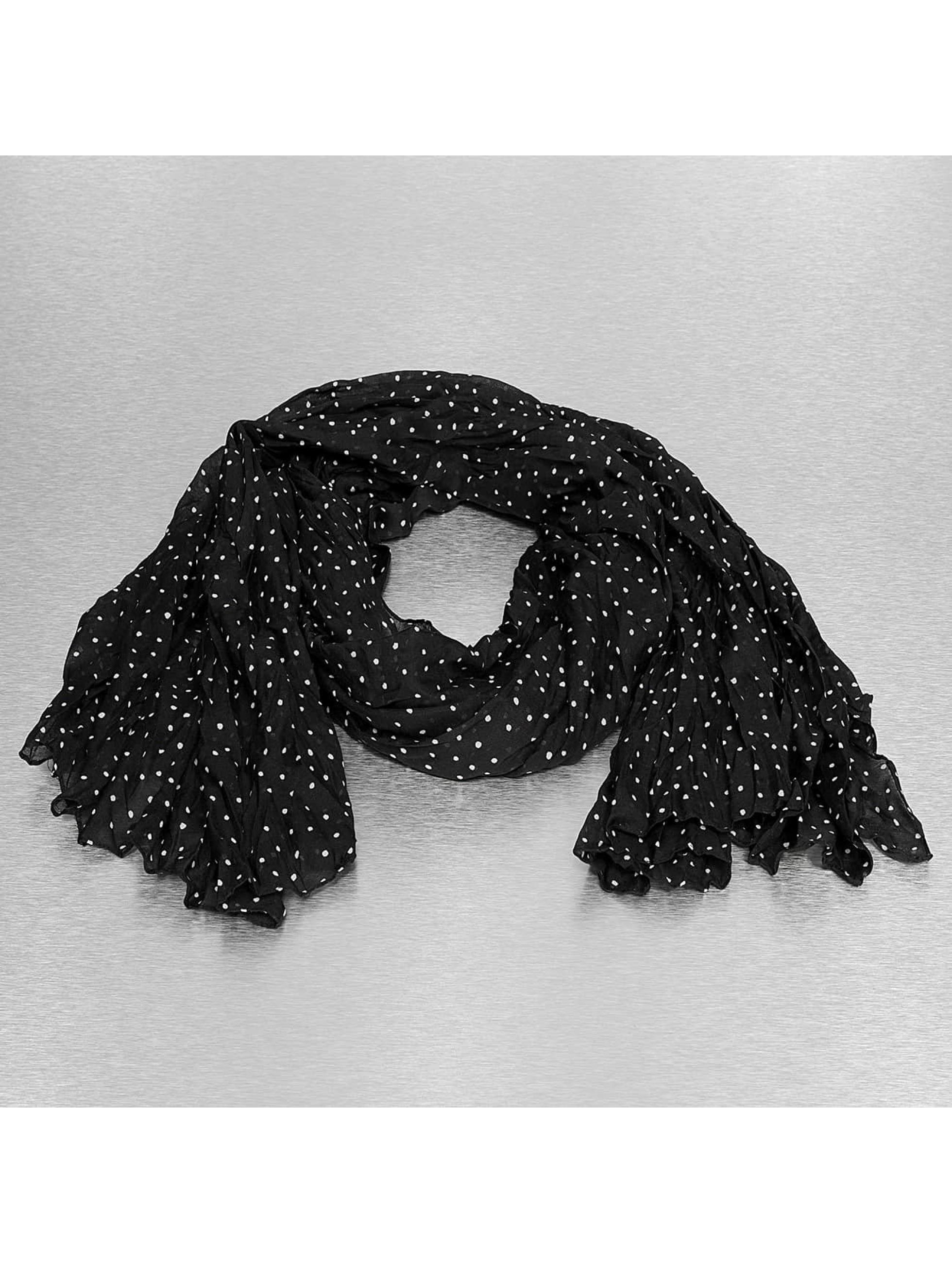 Only sjaal Kelly dot zwart