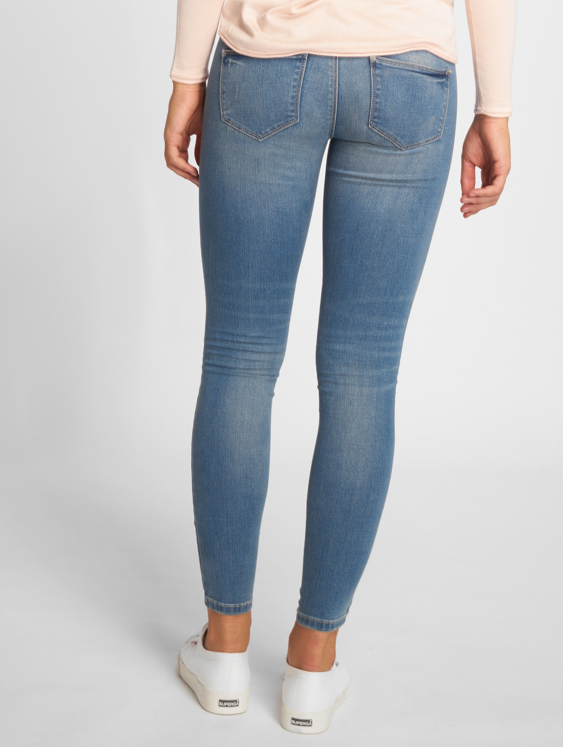 Only Skinny Jeans onlCoral blå