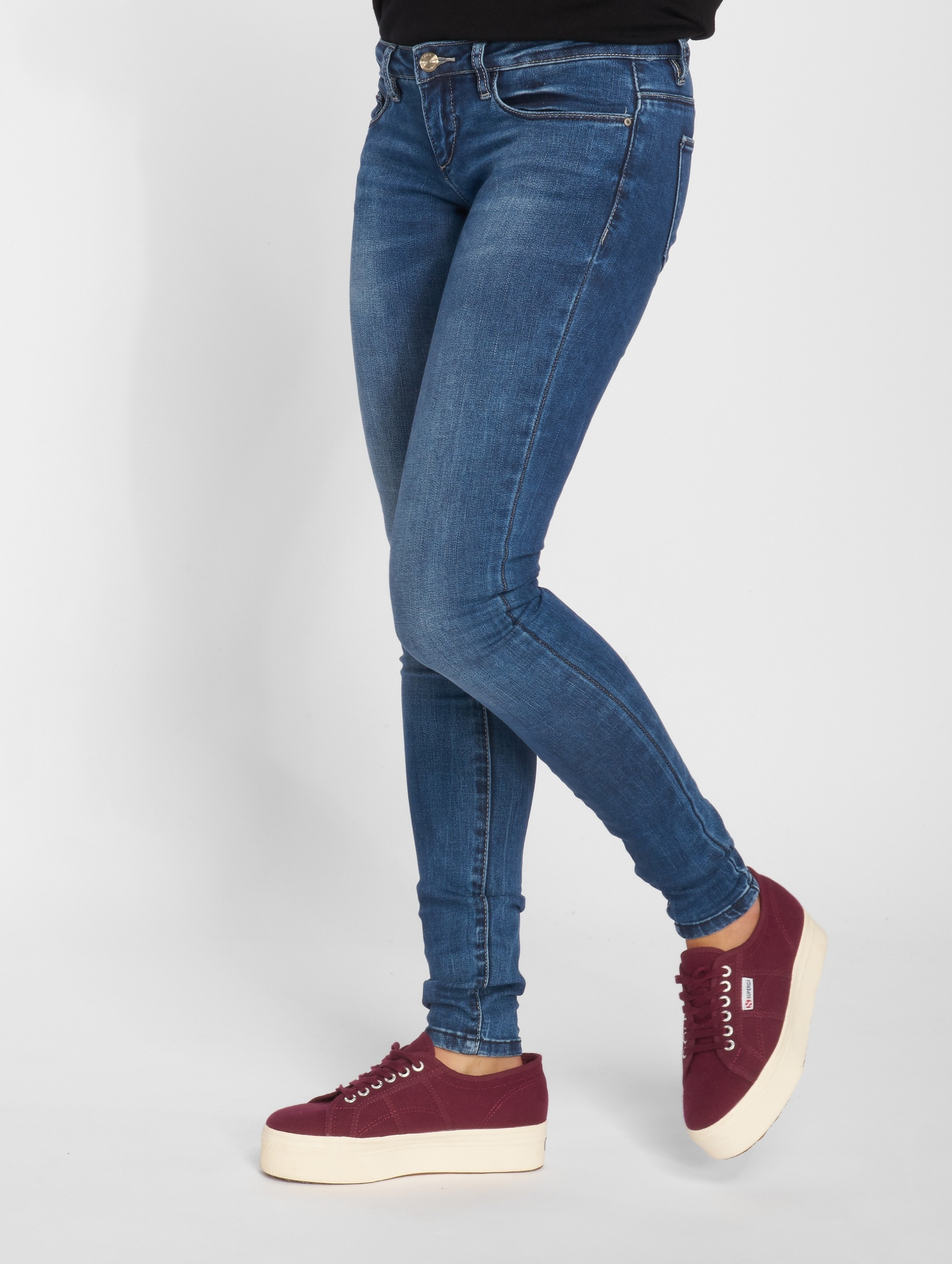 Skinny Jeans onlCoral Slim in blau