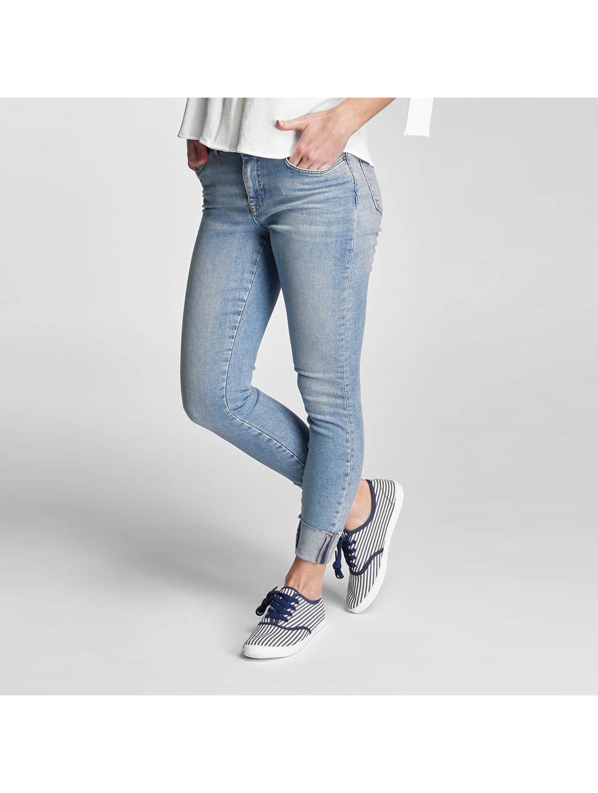 Skinny Jeans OnlCarmen in blau