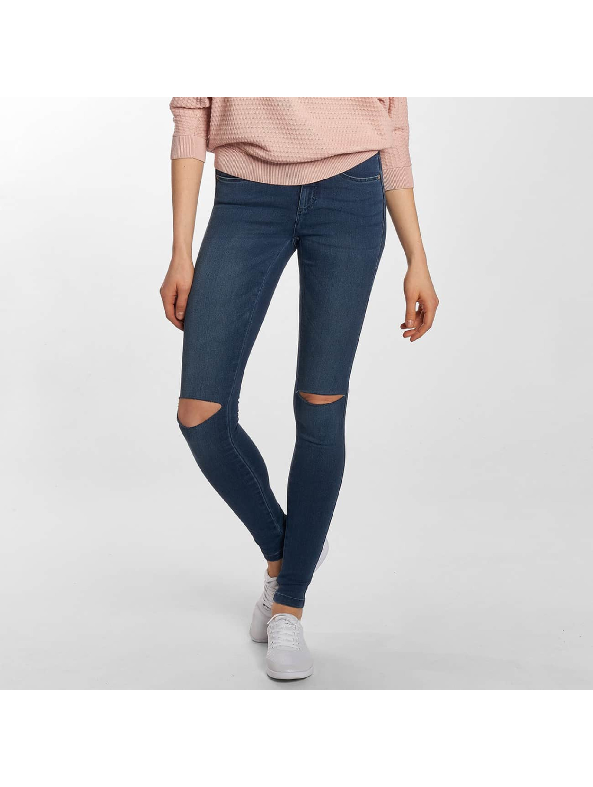 Only Skinny jeans onlRoyal Regular Knee Cut blauw