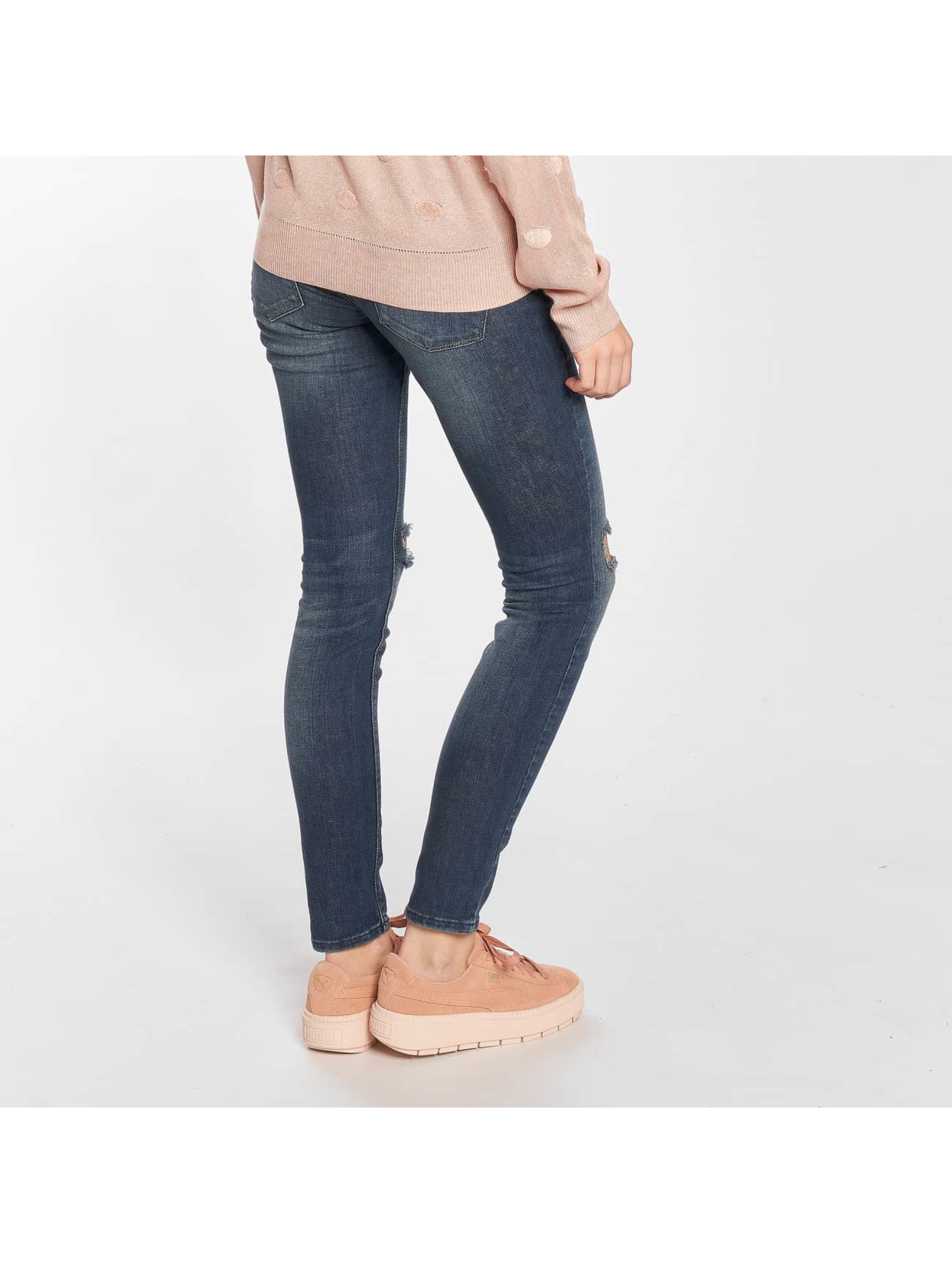 Only Skinny jeans onlCoral Kneehole Skinny blauw