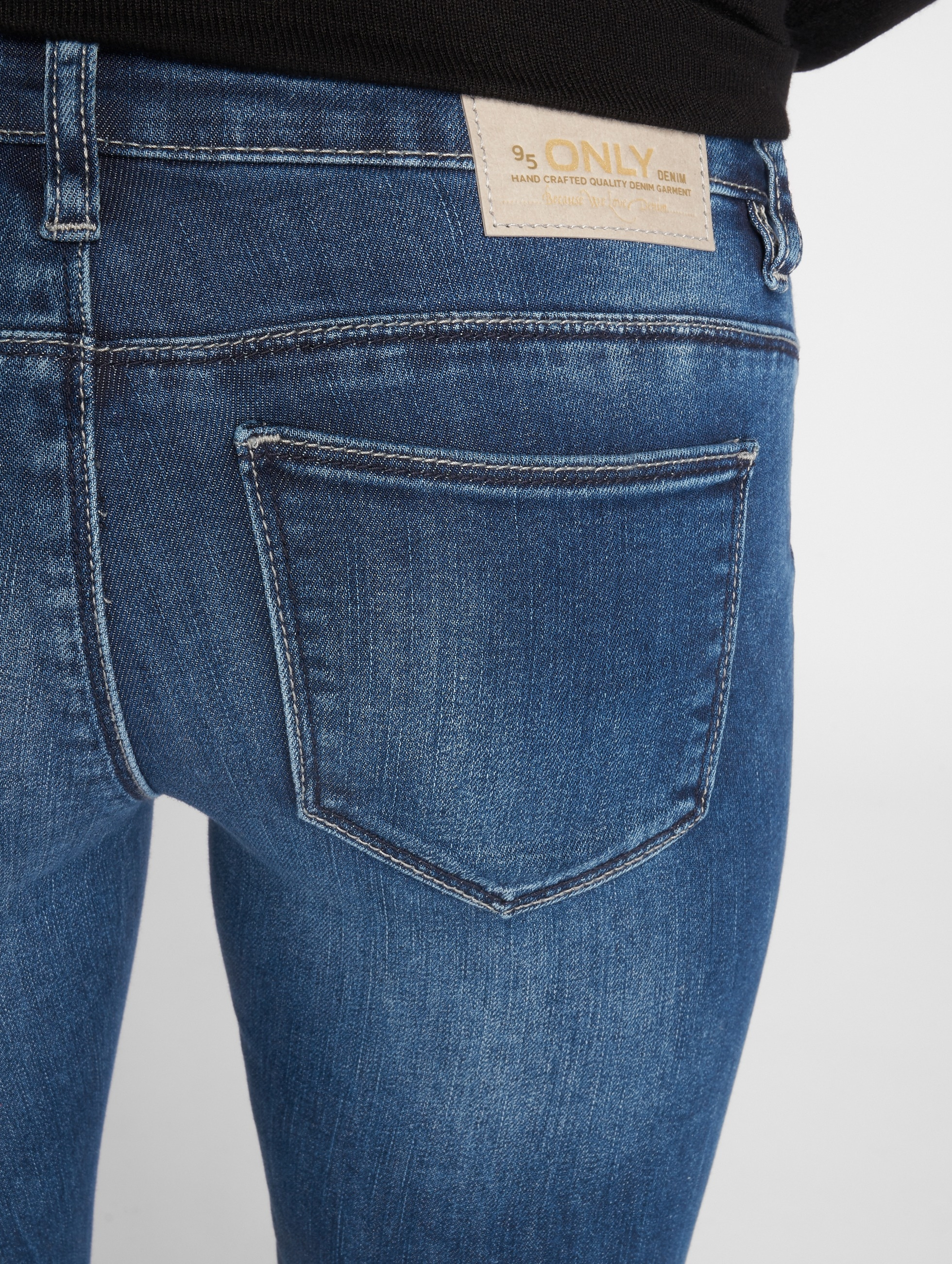 Only Skinny Jeans onlCoral Slim niebieski