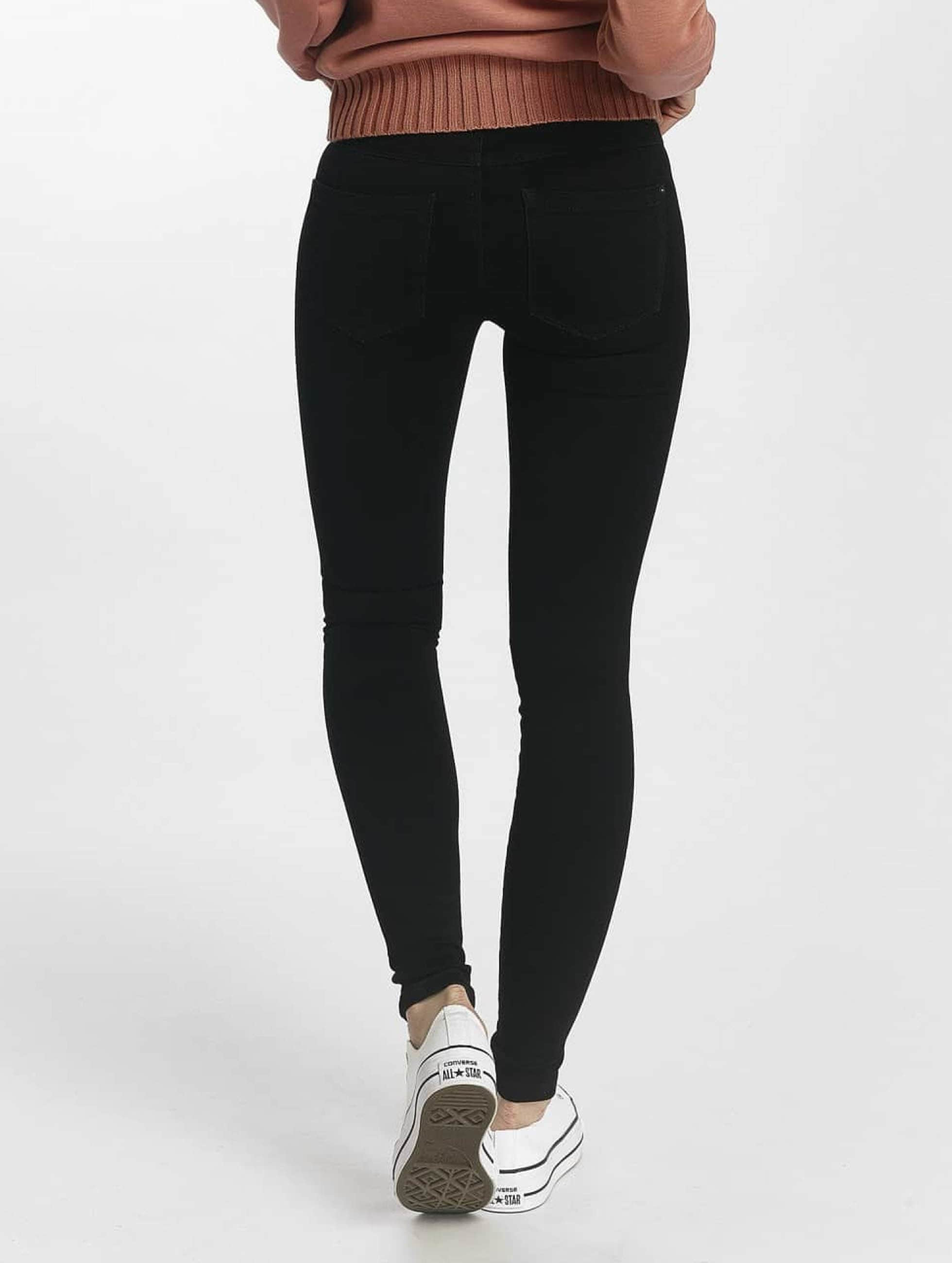 Only Skinny Jeans Royal Regular Kneecut schwarz