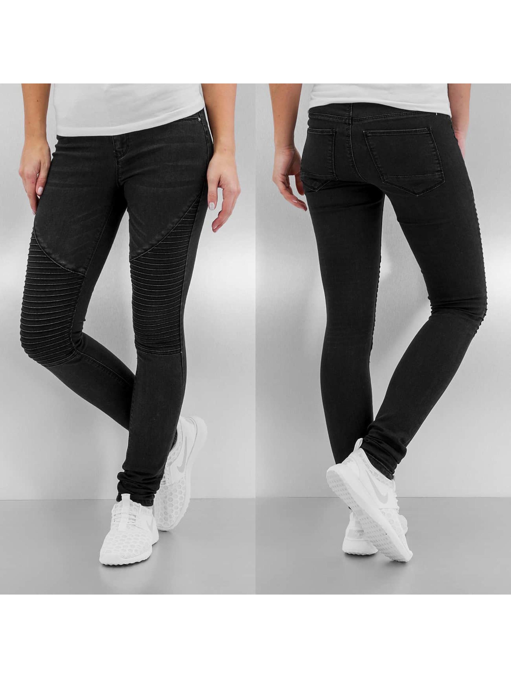 Skinny Jeans onlCoral Regular in schwarz