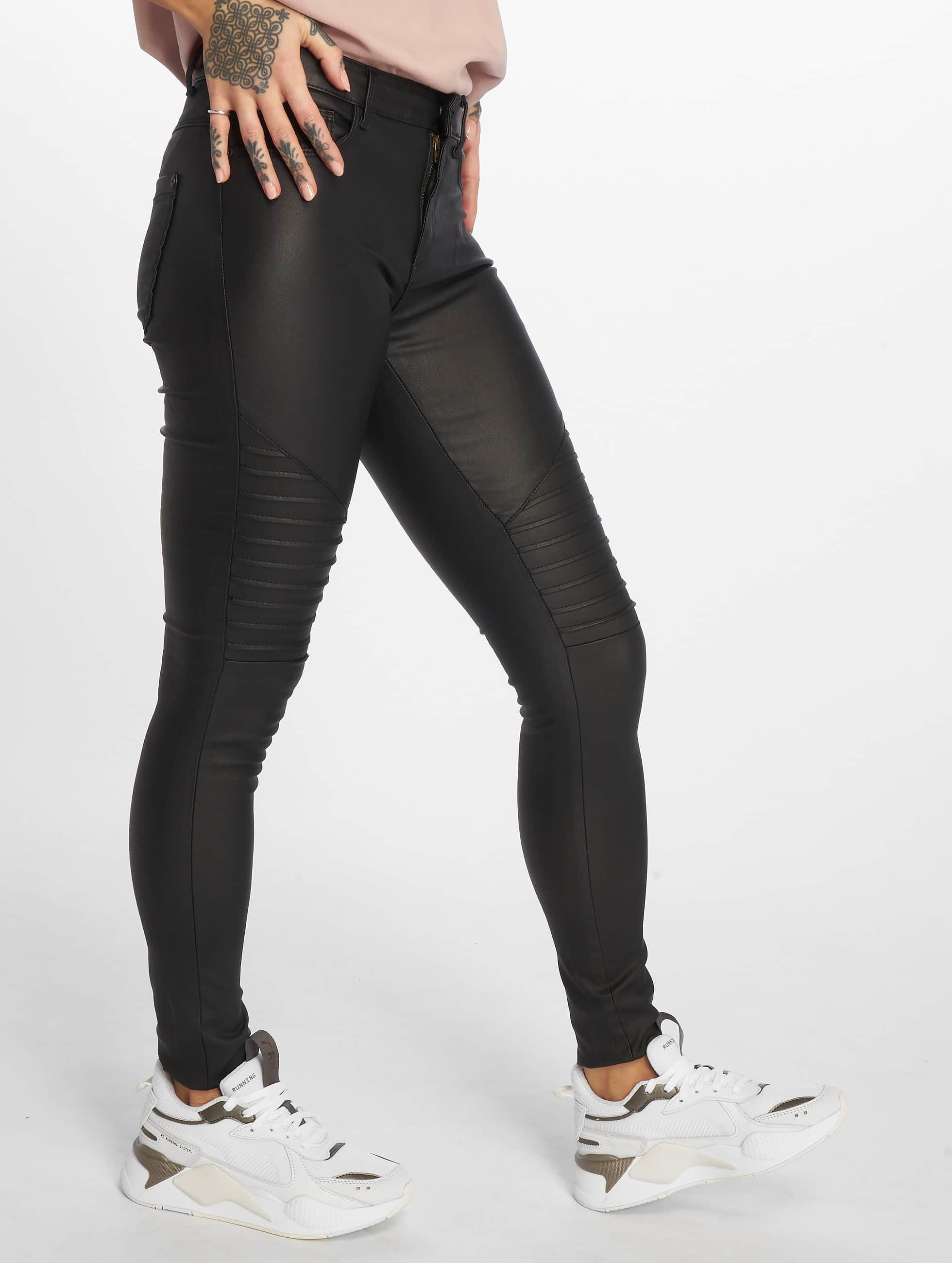 Skinny Jeans onlNew Royal Reg in schwarz