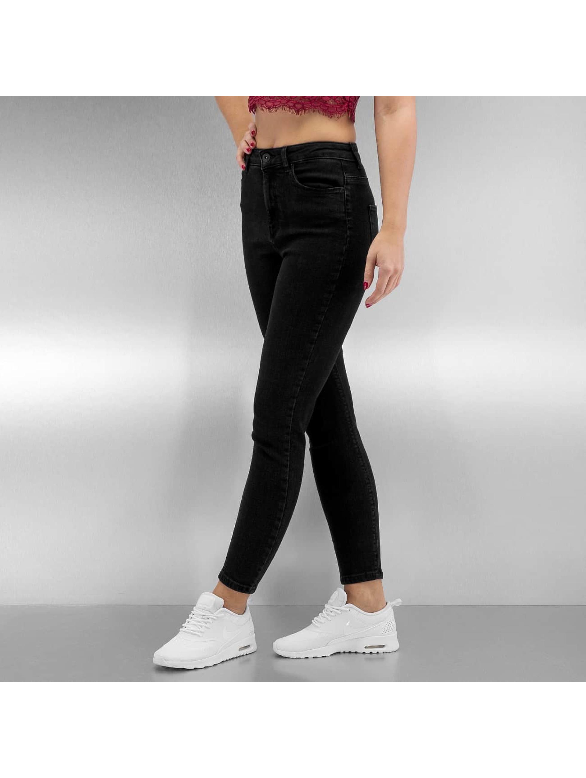 only damen skinny jeans onlposh in schwarz 311757. Black Bedroom Furniture Sets. Home Design Ideas